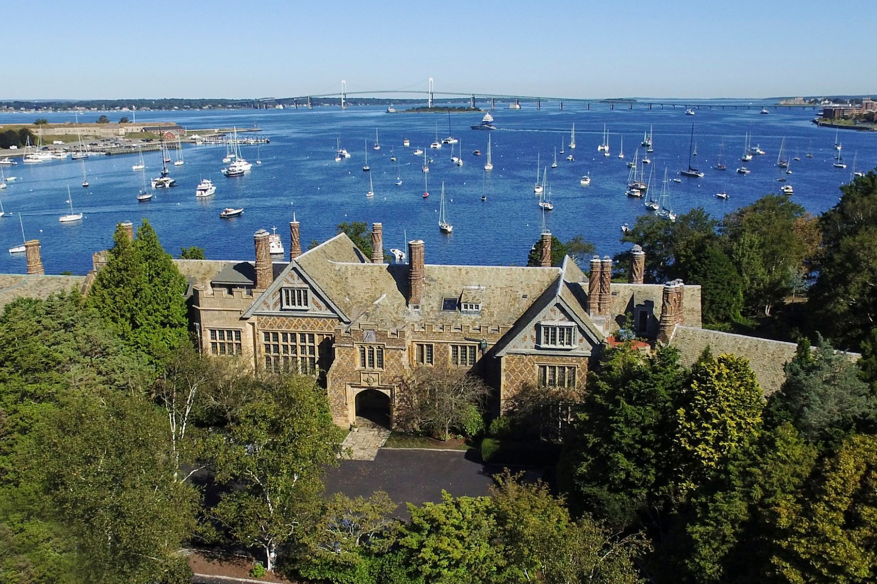 Condominium for Sale at Bonniecrest Manor House 111 Harrison Avenue M-8, Newport, Rhode Island, 02840 United States