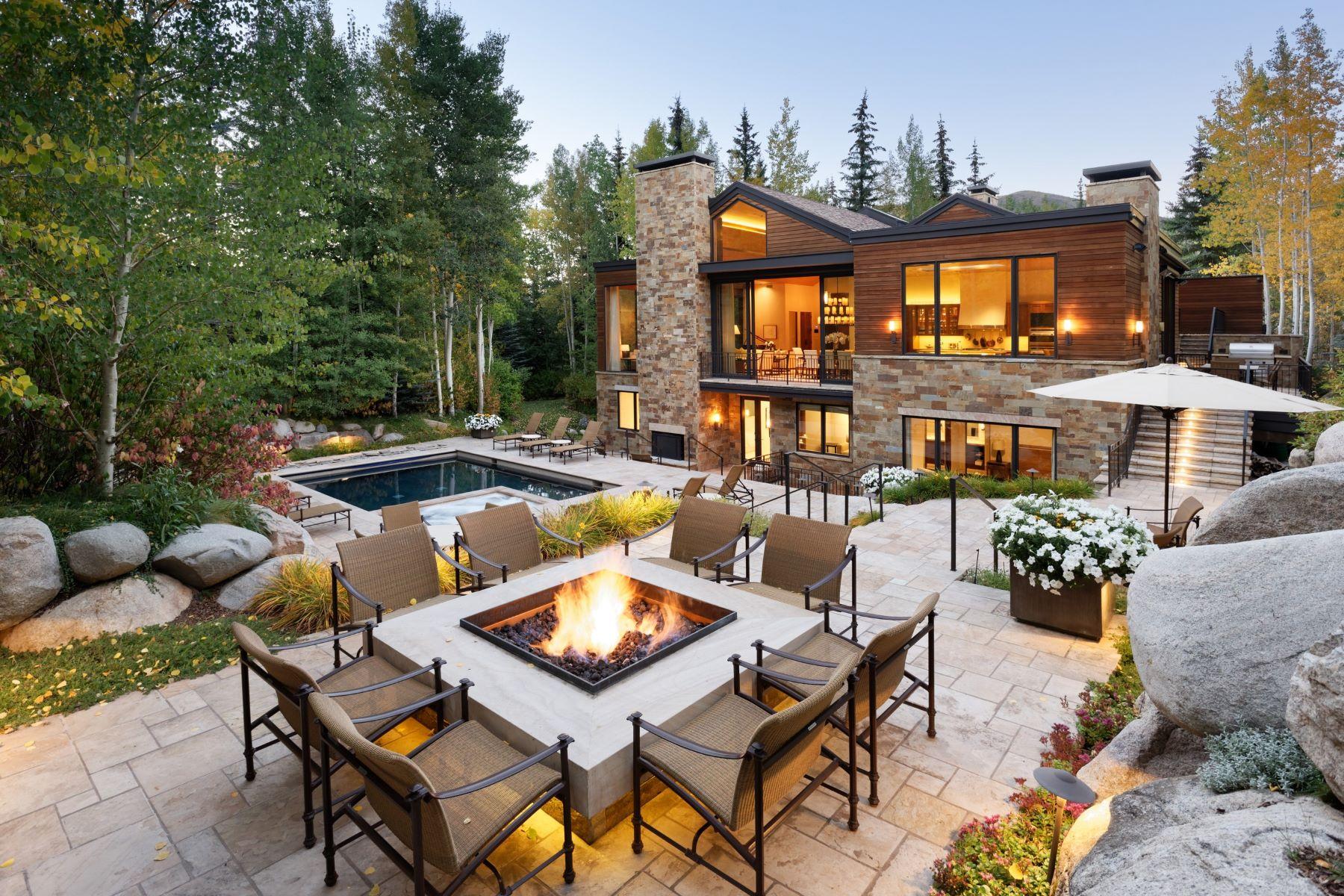 Single Family Homes для того Продажа на In-town Living at its Finest 8 Ute Place, А́спен, Колорадо 81611 Соединенные Штаты