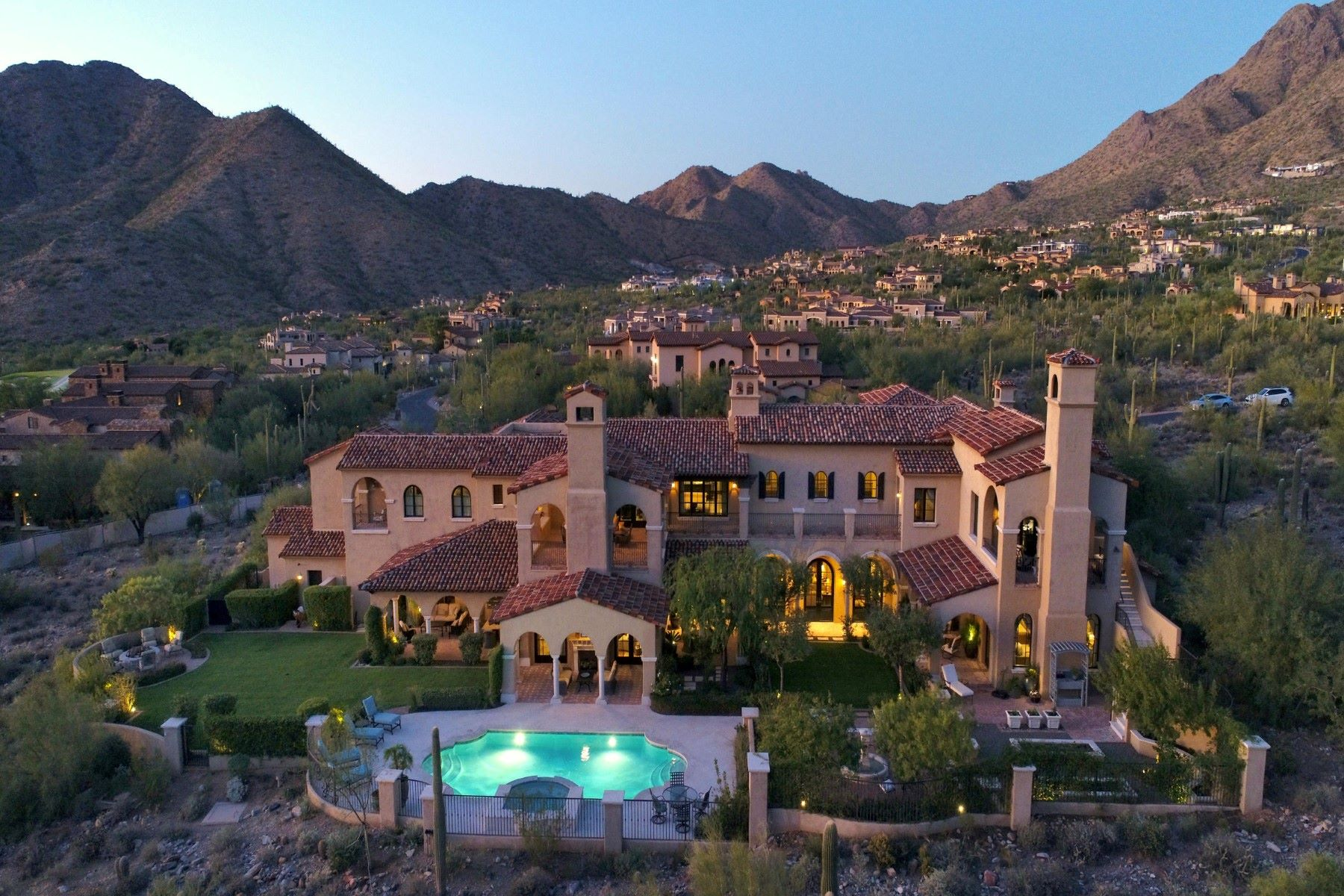 Single Family Homes for Active at Silverleaf 10835 E Mountain Spring RD Scottsdale, Arizona 85255 United States