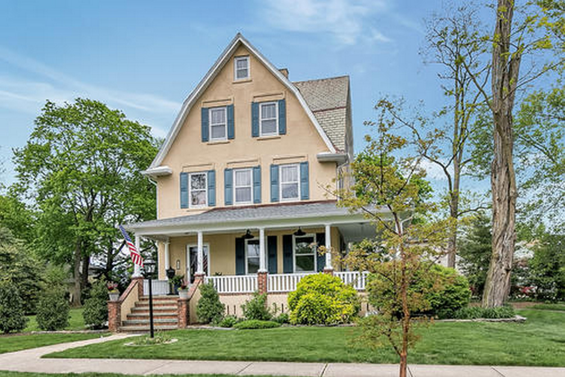 Single Family Homes for Sale at Old World Charm 66 South Ave Atlantic Highlands, New Jersey 07716 United States