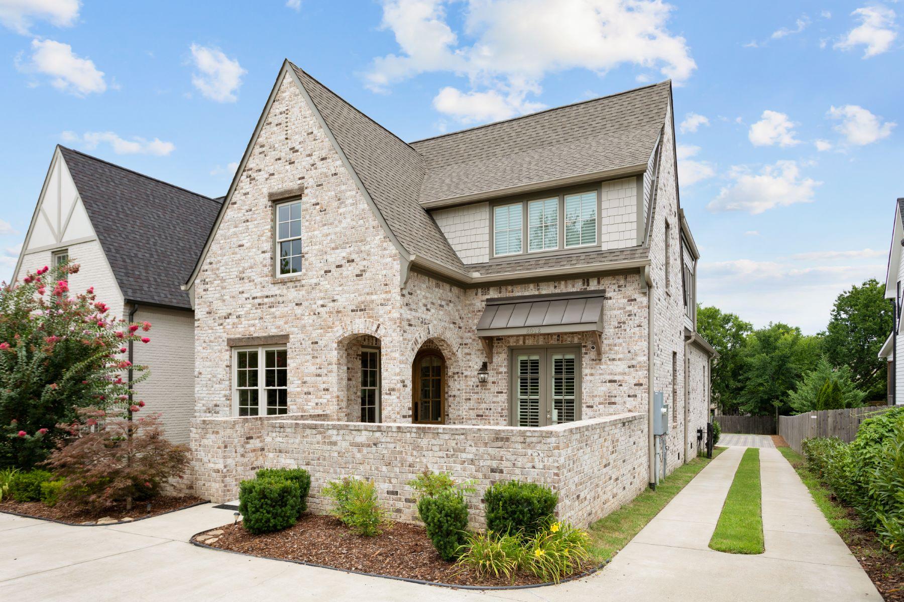 Single Family Homes 为 销售 在 Castleman Drive Southern Elite Home 2012 Castleman Drive 那什维尔, 田纳西州 37215 美国