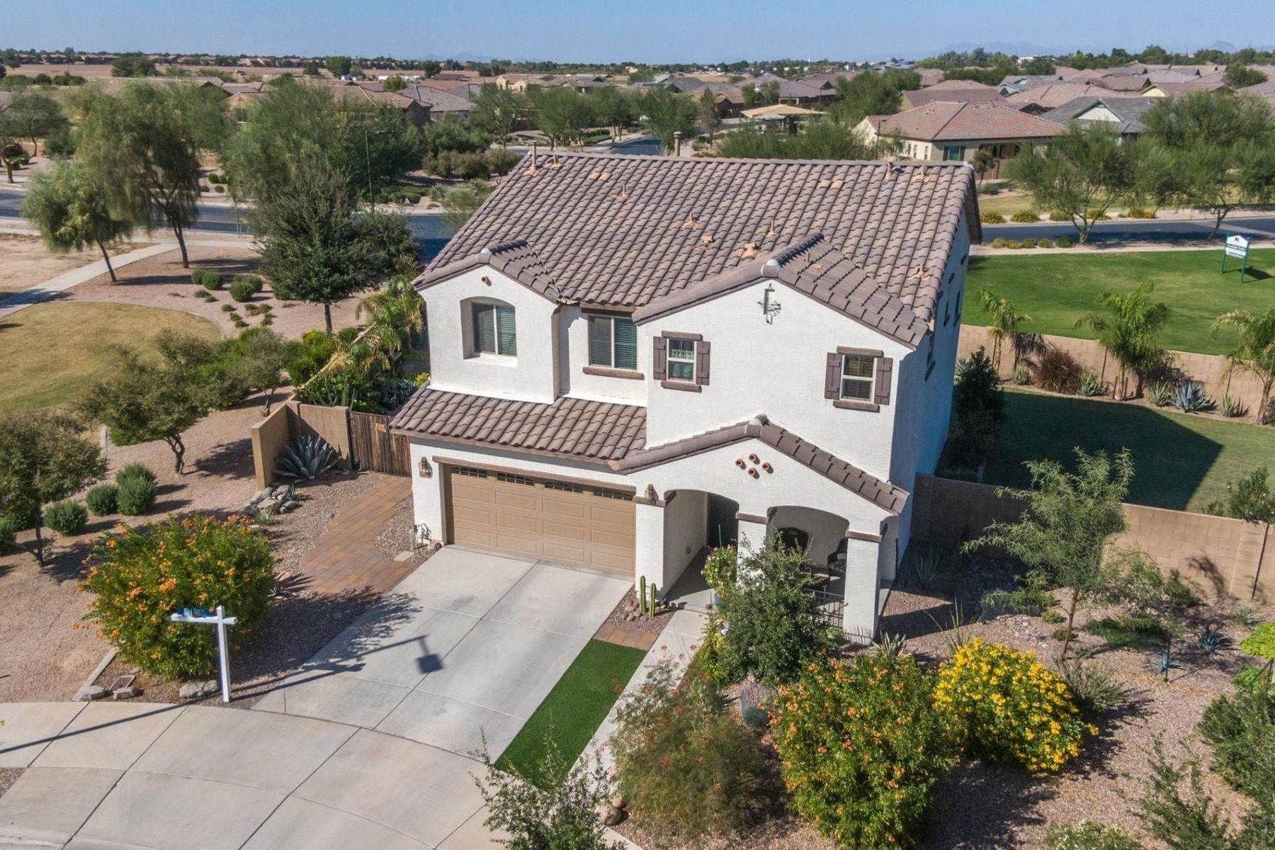 Single Family Homes for Sale at Hastings Farms 23609 S 209TH CT Queen Creek, Arizona 85142 United States