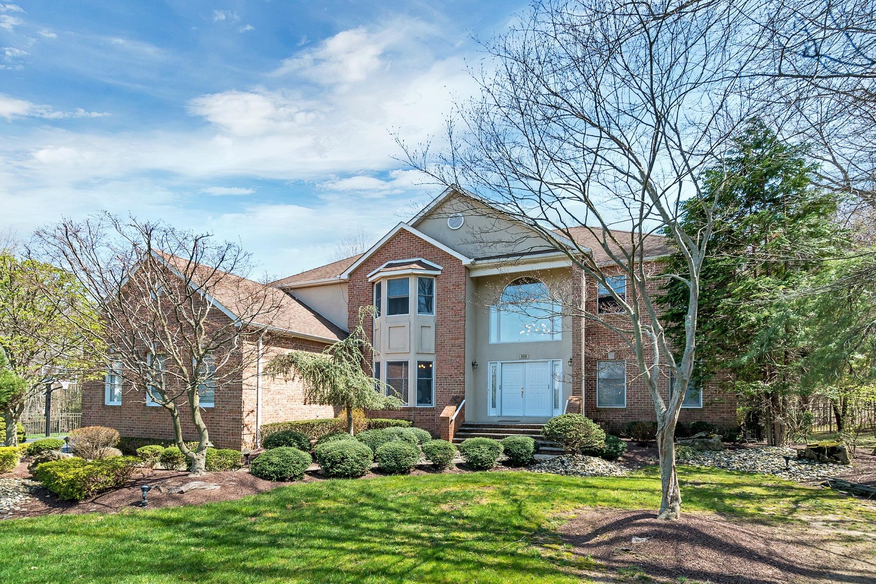 Частный односемейный дом для того Продажа на Distinguished Crine Woods 353 Salinger Court Marlboro, 07751 Соединенные Штаты
