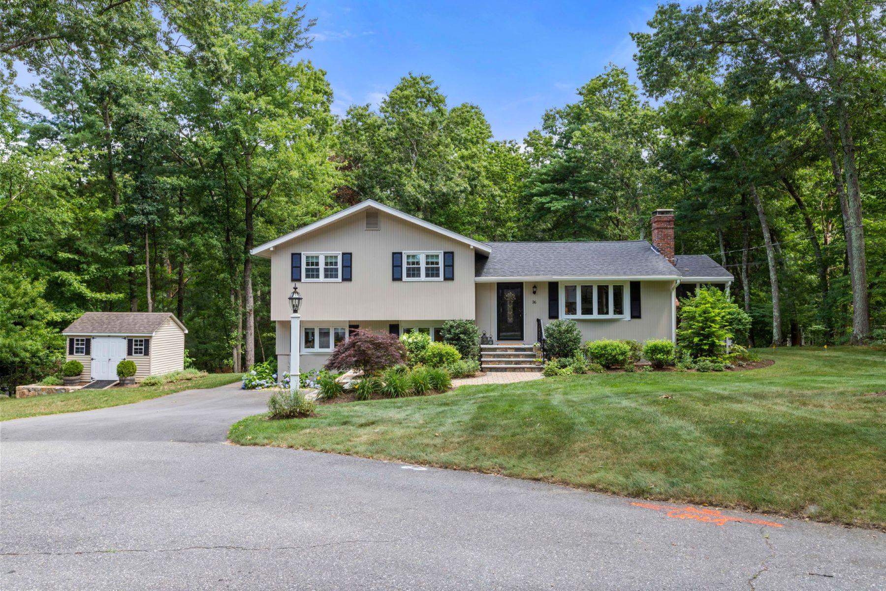 Single Family Homes 为 销售 在 36 Kendall Road 36 Kendall Rd 萨德伯里, 马萨诸塞州 01776 美国