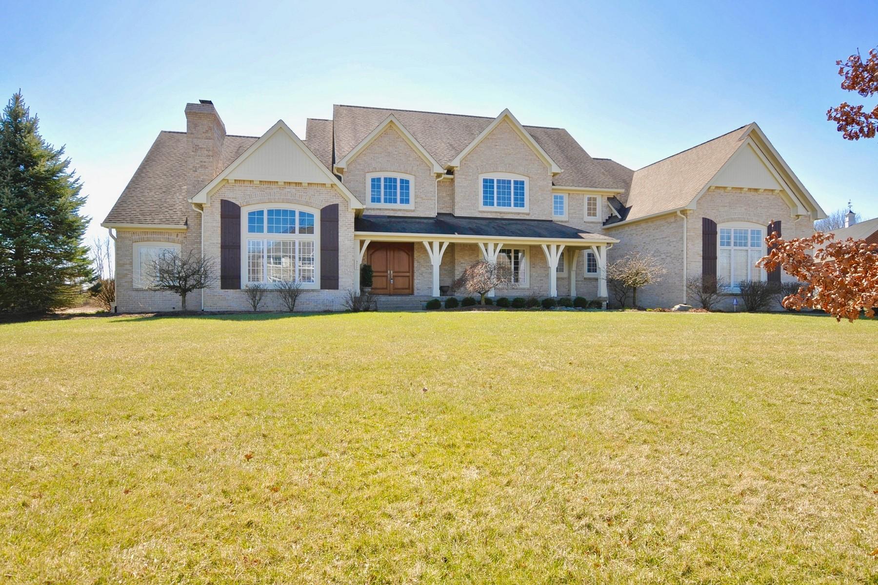 Einfamilienhaus für Verkauf beim Privacy, Tranquility, Serenity 9277 Pleasant View Lane Zionsville, Indiana, 46077 Vereinigte Staaten