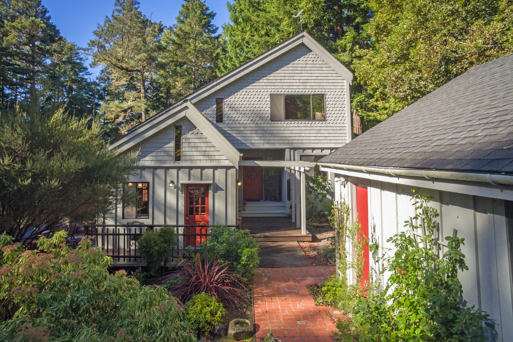 Single Family Home for Sale at Little River Retreat! 33200 Frog Pond Road Mendocino, California 95460 United States