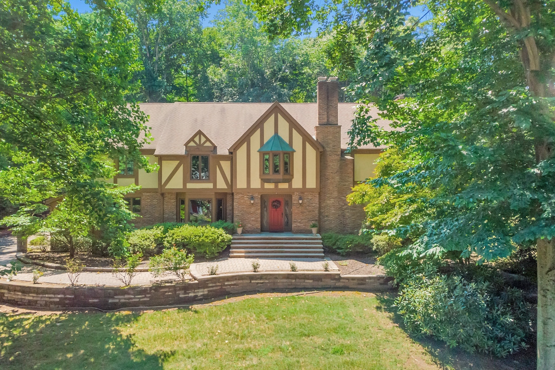 Single Family Homes for Sale at Classic Tudor Beauty 34 Gristmill Ln Upper Saddle River, New Jersey 07458 United States