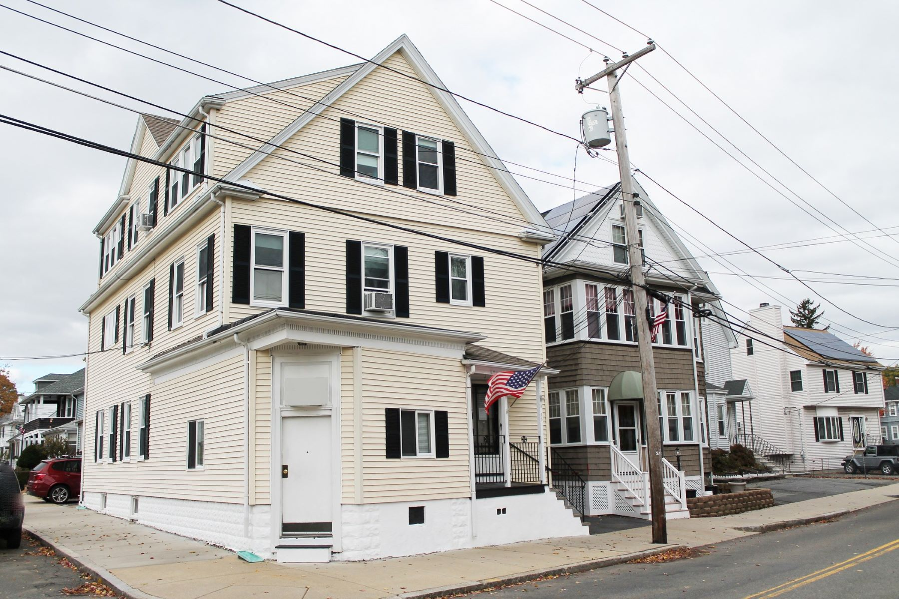 Multi-Family Home for Active at 88 Rockwell St, Malden 88 Rockwell St Malden, Massachusetts 02148 United States
