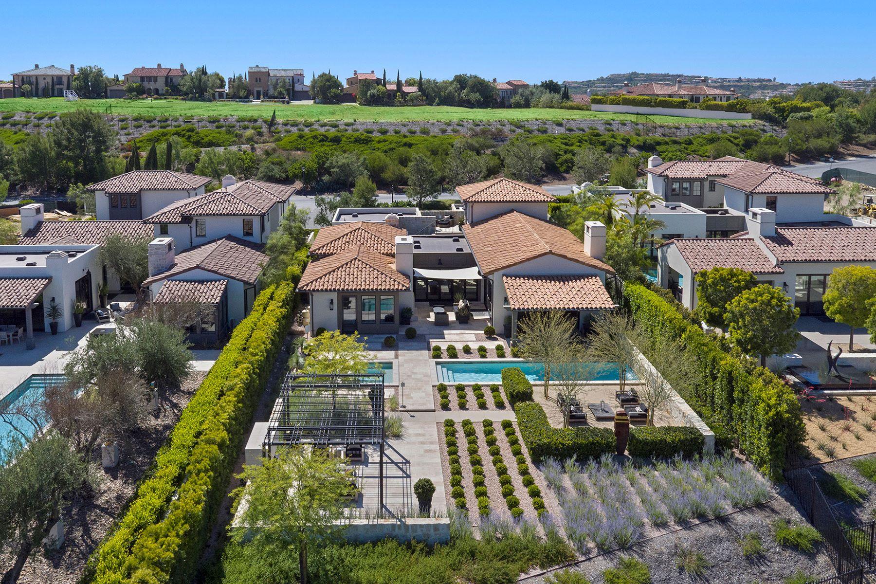 Casa para uma família para Venda às 8 Blue Shore Newport Coast, Califórnia, 92657 Estados Unidos