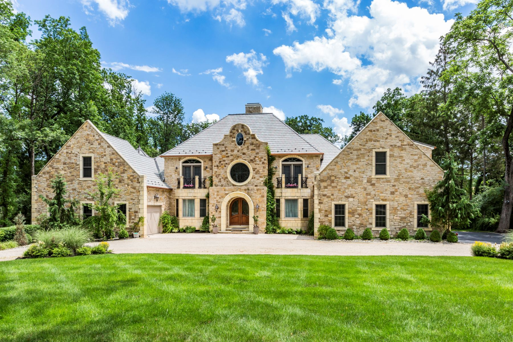 Single Family Home for Sale at Majestic Custom Home, Complete with Every Luxury 218 Drakes Corner Road, Princeton, New Jersey 08540 United StatesMunicipality: Princeton