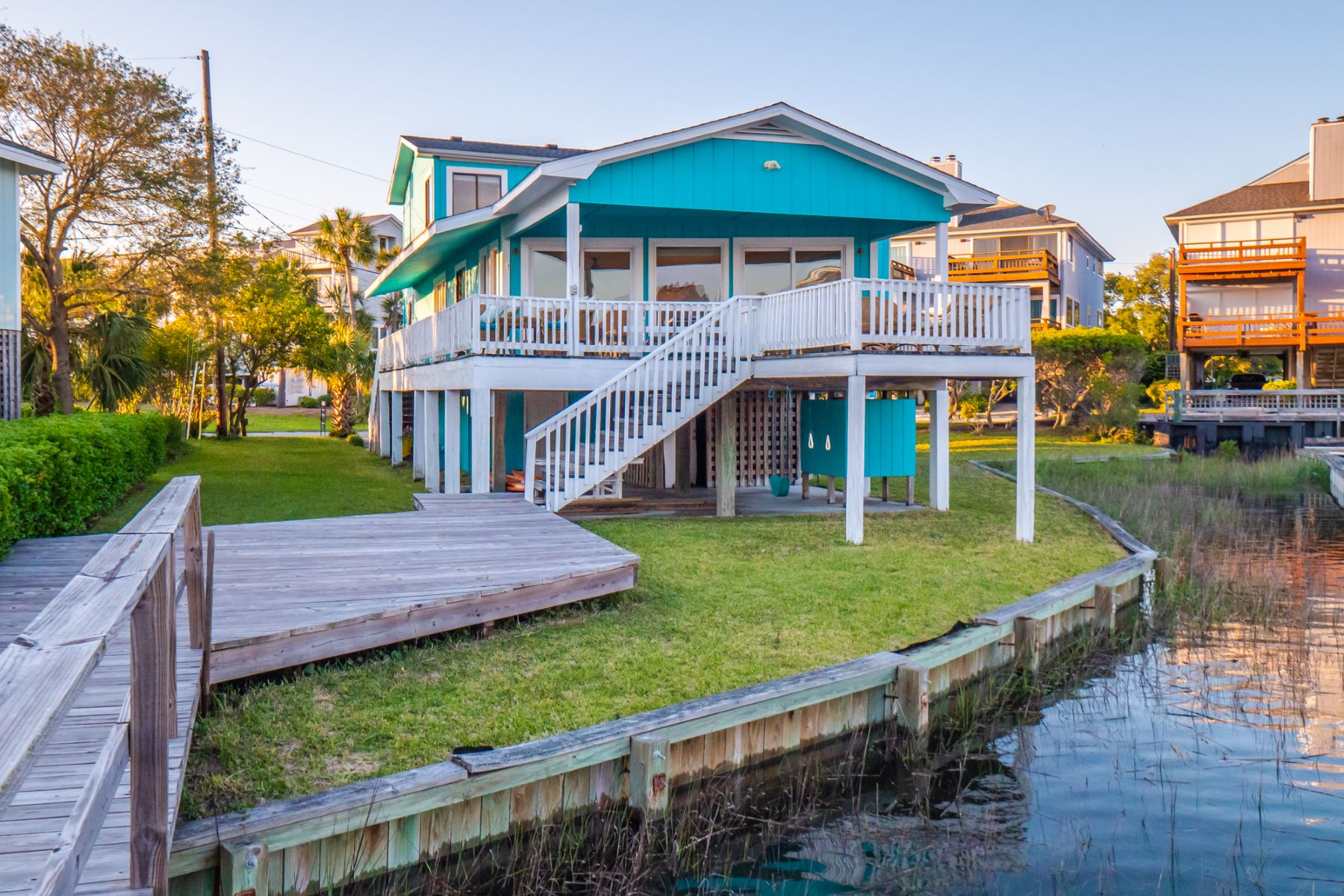 Single Family Homes for Sale at Beautiful Home on Wrightsville Beach 234 Seacrest Drive Wrightsville Beach, North Carolina 28480 United States
