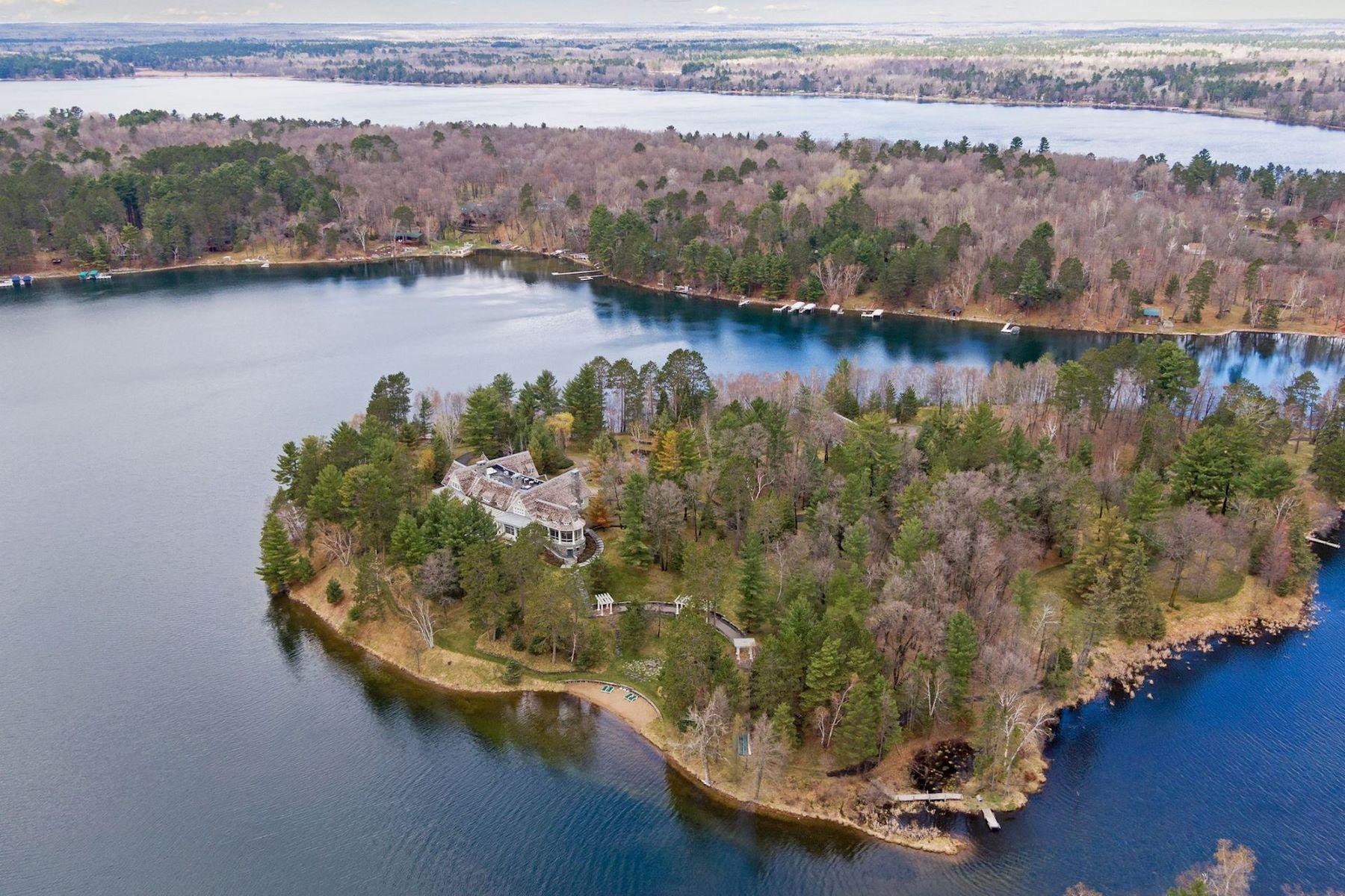 Single Family Homes voor Verkoop op Crosslake, Minnesota 56442 Verenigde Staten