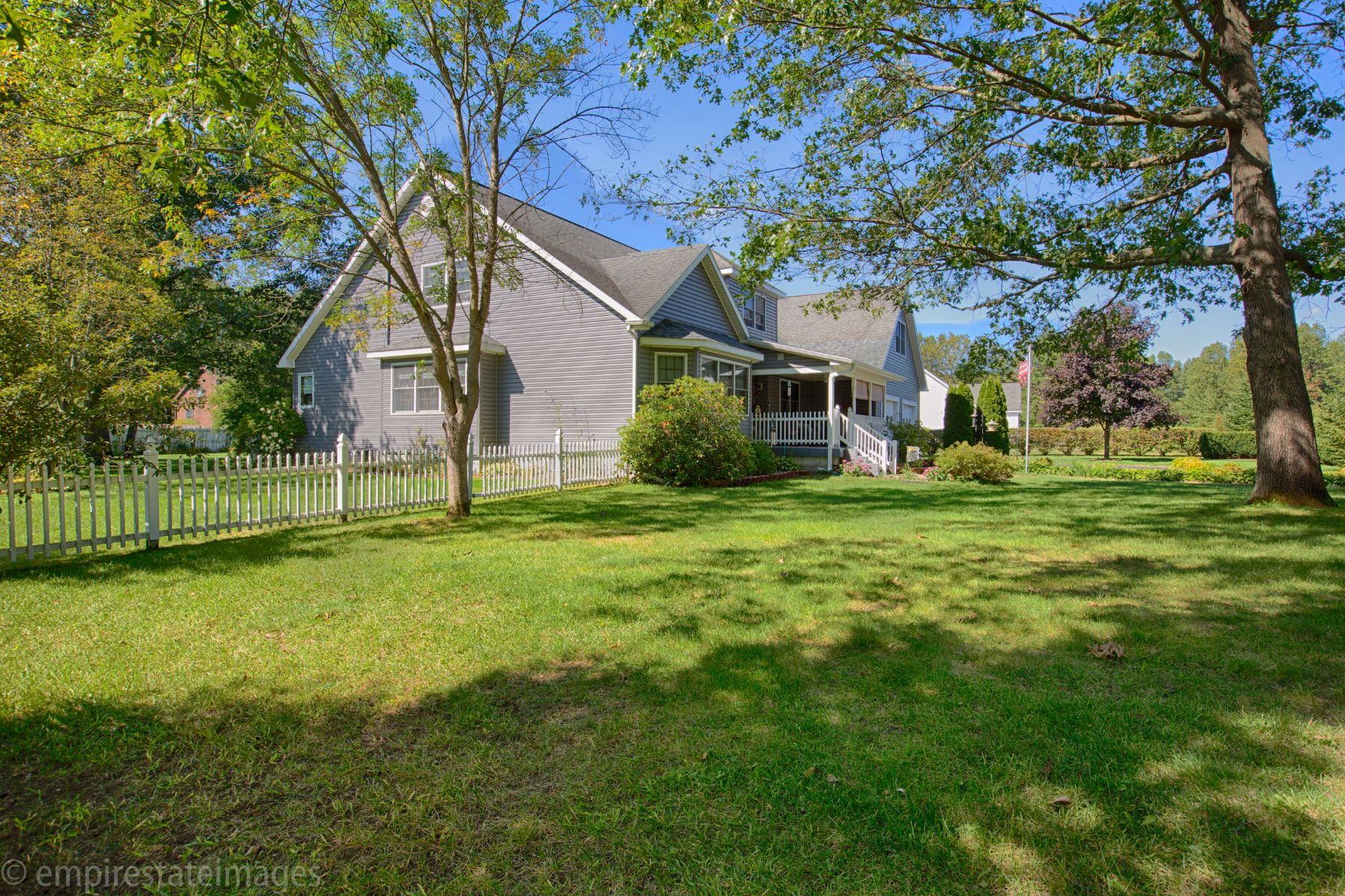 Single Family Homes for Active at Spacious Custom Contemporary 42 Grey Fox Dr South Glens Falls, New York 12828 United States