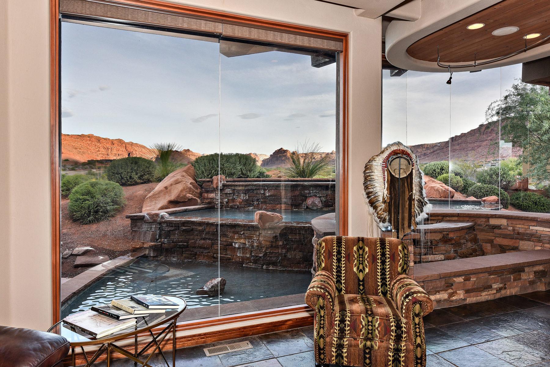 Additional photo for property listing at Gorgeous Custom Estate Home 2484 Moenavi Circle St. George, Utah 84770 United States