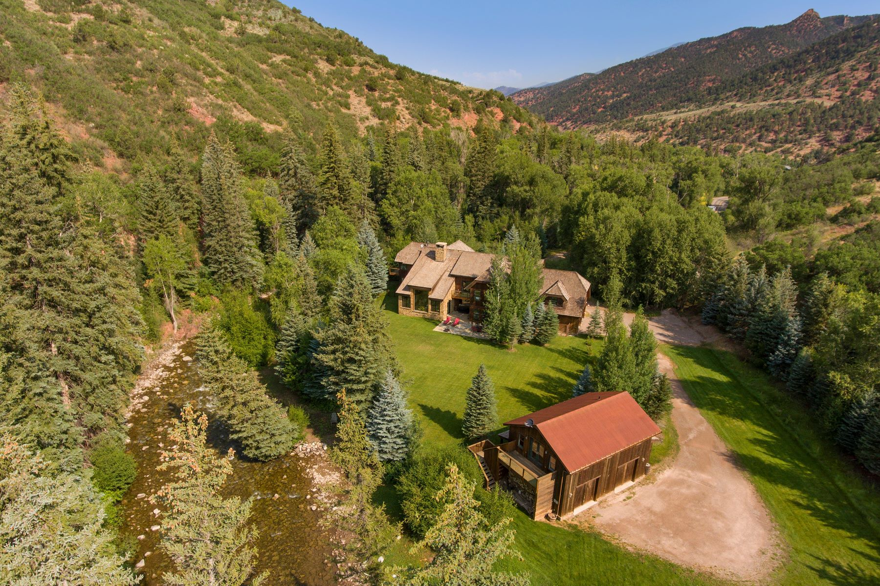 Single Family Homes por un Venta en Snowmass Creek Paradise 333 Snowmass Creek Road, Snowmass, Colorado 81654 Estados Unidos