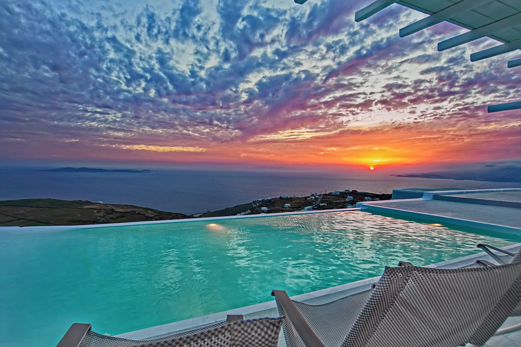 Einfamilienhaus für Verkauf beim Ocean Blue Mykonos, Südliche Ägäis, Griechenland
