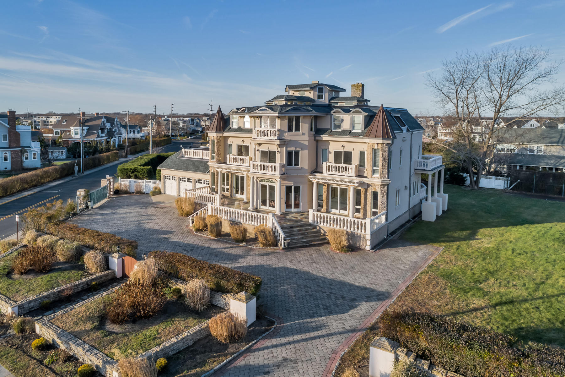 Single Family Homes for Sale at Spectacular Ocean Views 32 Ocean Avenue Monmouth Beach, New Jersey 07750 United States