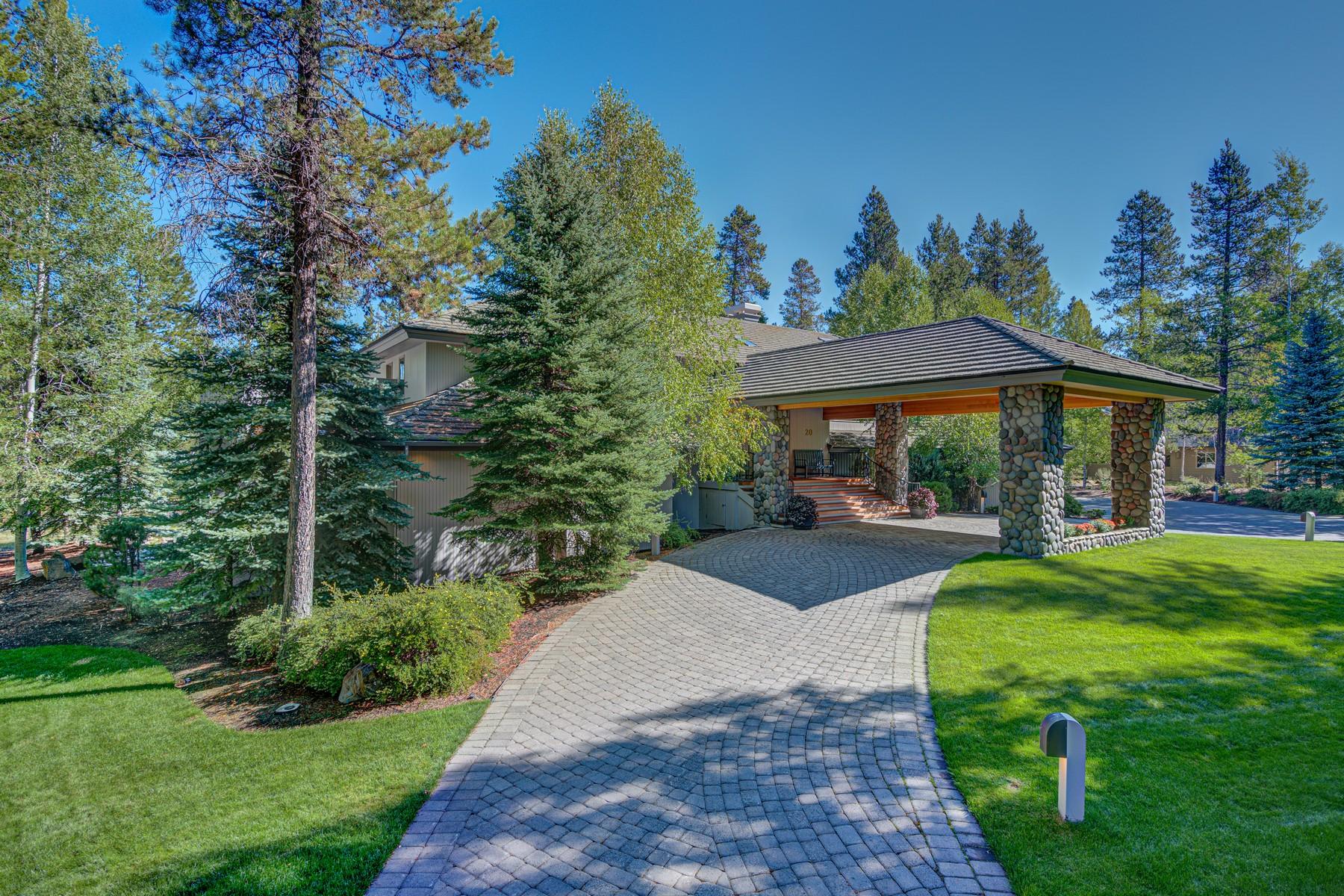 Single Family Homes pour l Vente à 18084-20 Maury Mountain Lane Sunriver, OR 97707 18084 Maury Mountain Ln, Sunriver, Oregon 97707 États-Unis