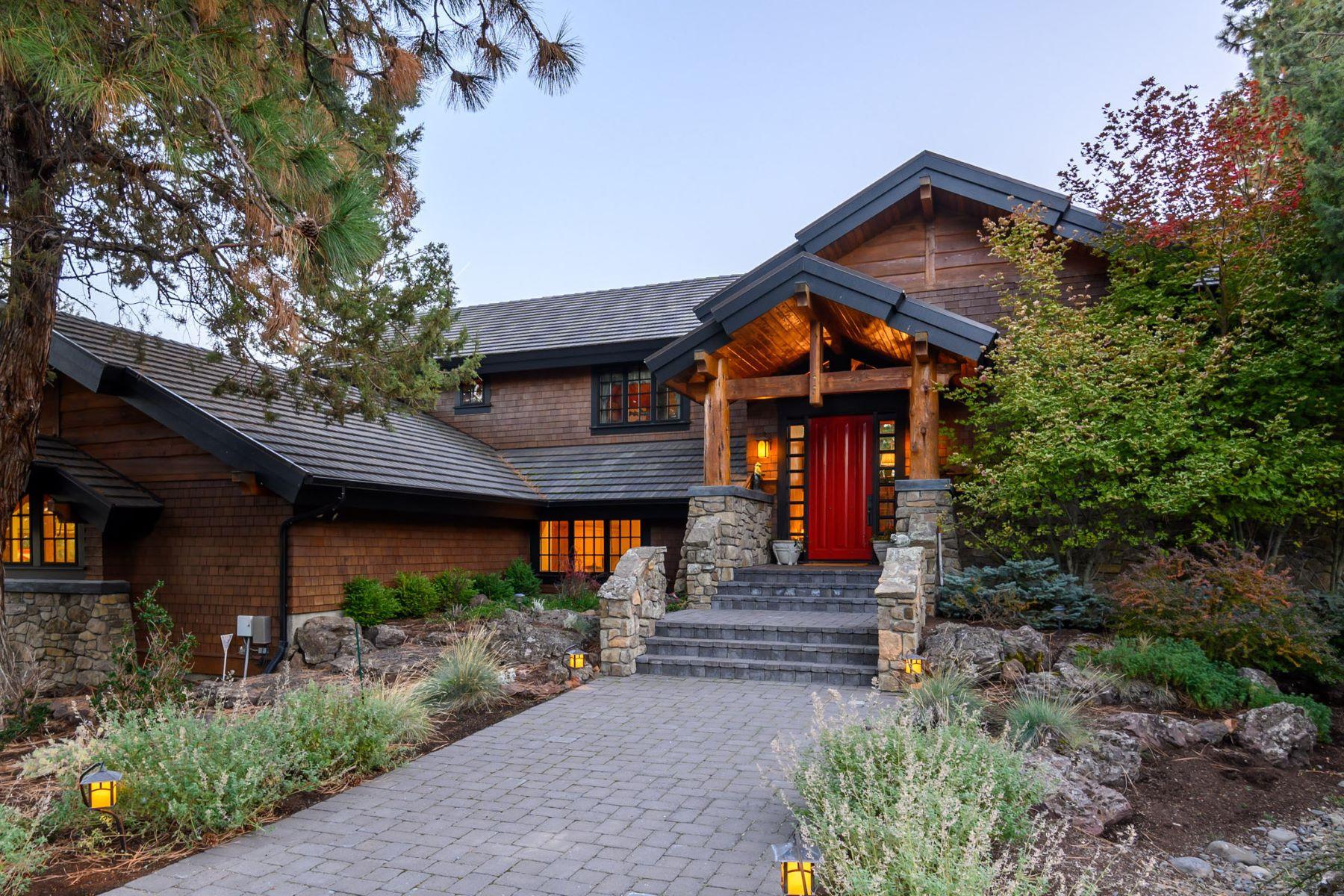 Single Family Homes pour l Vente à Cascade Mountain Ridge Estate - Sisters, OR 68879 Chestnut Drive, Sisters, Oregon 97759 États-Unis