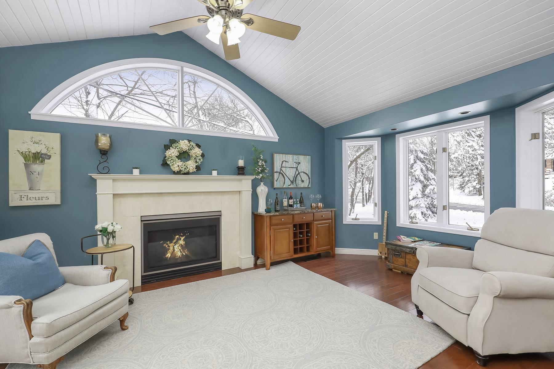 Single Family Homes for Sale at Sought-after Lake Forest Neighborhood Three Level Split on Corner Lot 2357 Parkwoods Road St. Louis Park, Minnesota 55416 United States