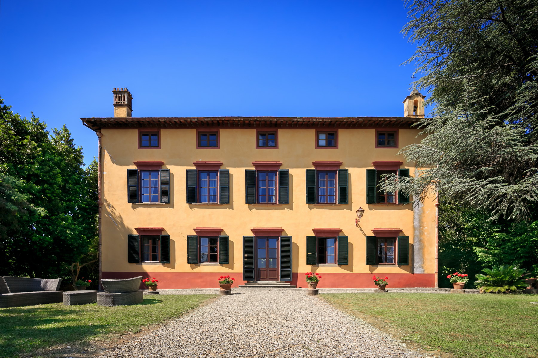 Land for Sale at Beautiful 17th century villa and vineyard near Lucca Capannori, Lucca Italy