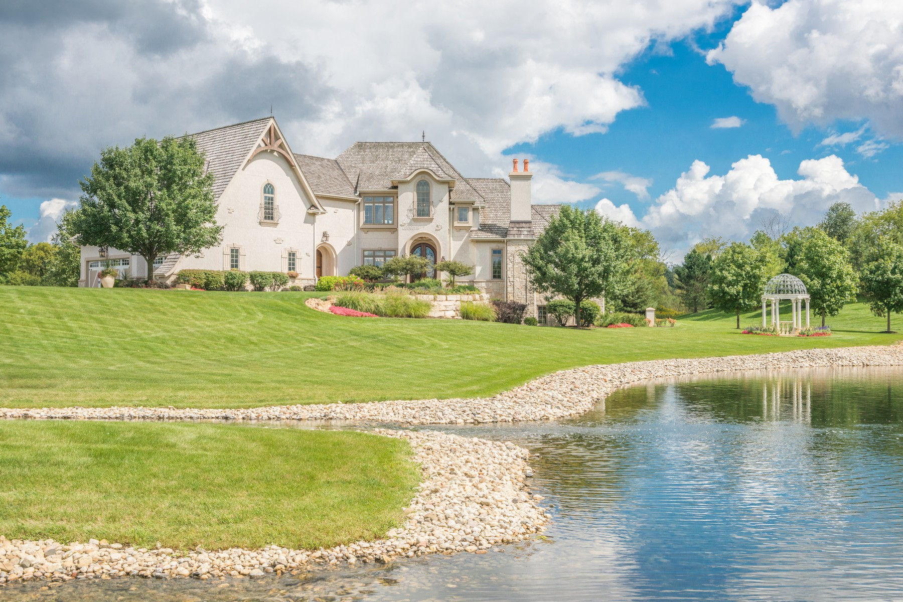 Single Family Home for Sale at Tuscan Inspired Dream Home 4410 Farmington Lane Johnsburg, Illinois 60051 United States