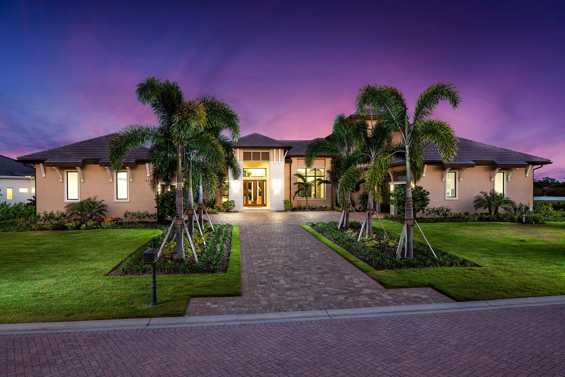 Single Family Homes 为 销售 在 AUDUBON COUNTRY CLUB 368 Warwick Way 那不勒斯, 佛罗里达州 34110 美国