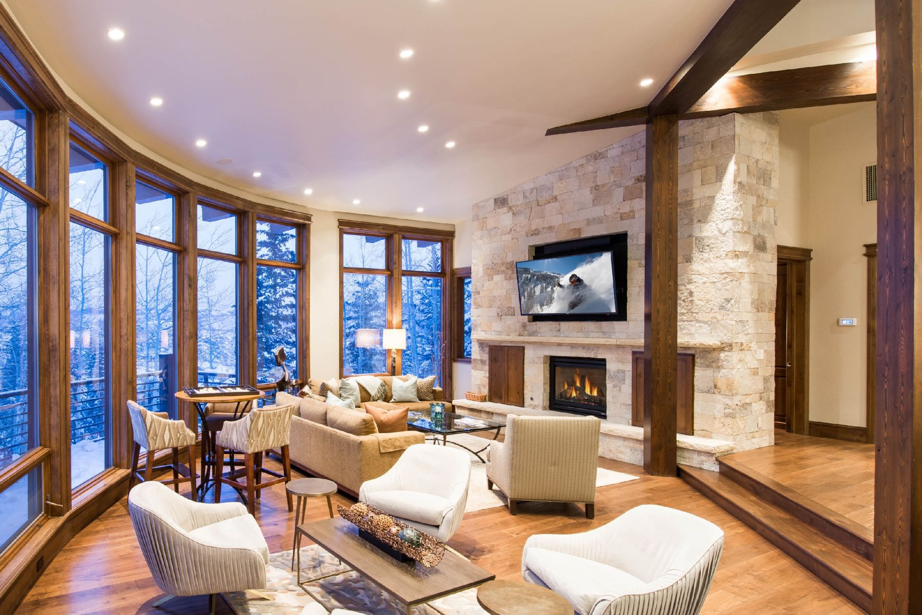 Single Family Homes for Sale at The Ultimate Mountain Home 1457 Wood Rd Snowmass Village, Colorado 81615 United States