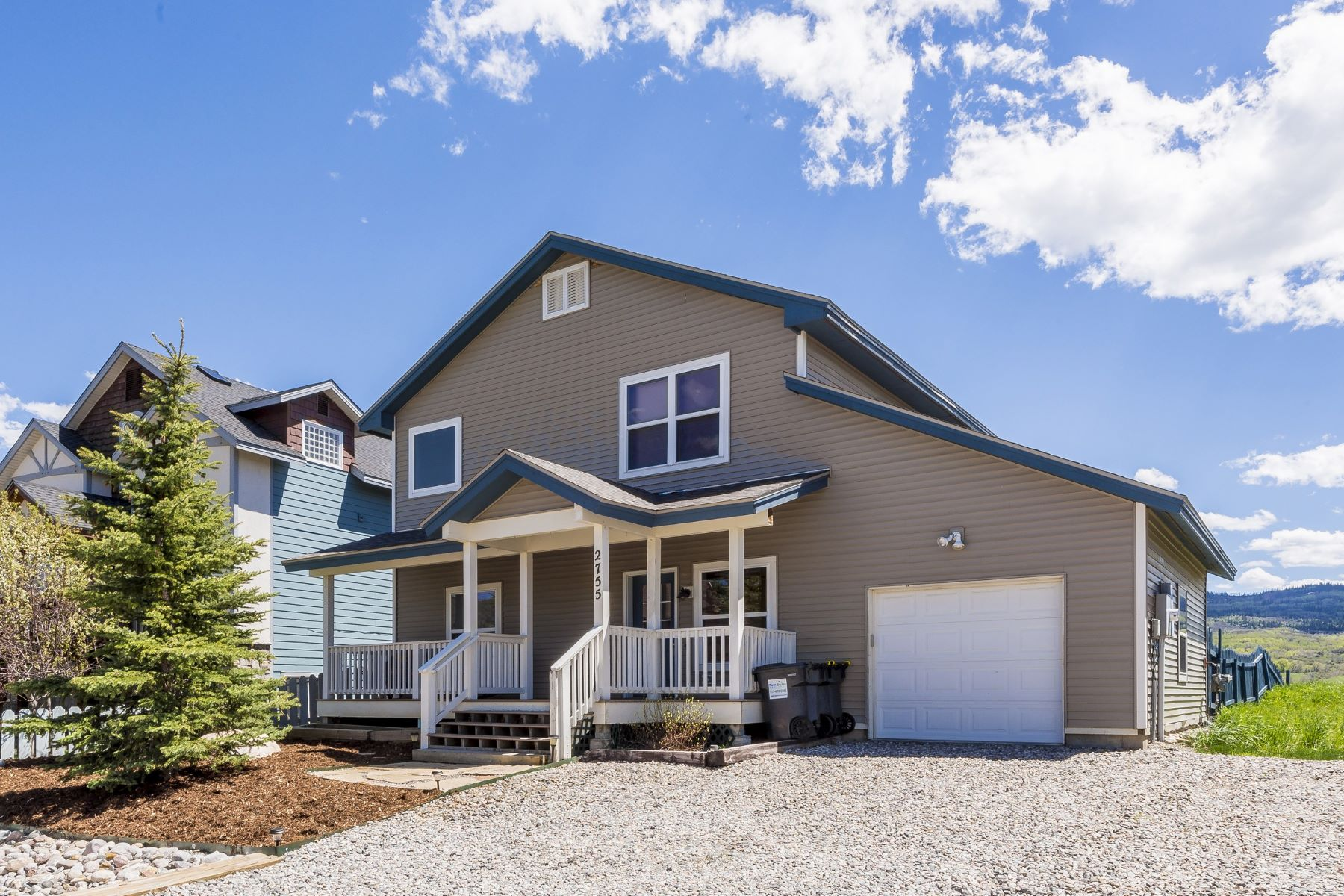 Single Family Home for Sale at West End Home with Big Views 2755 Abbey Road Steamboat Springs, Colorado 80487 United States