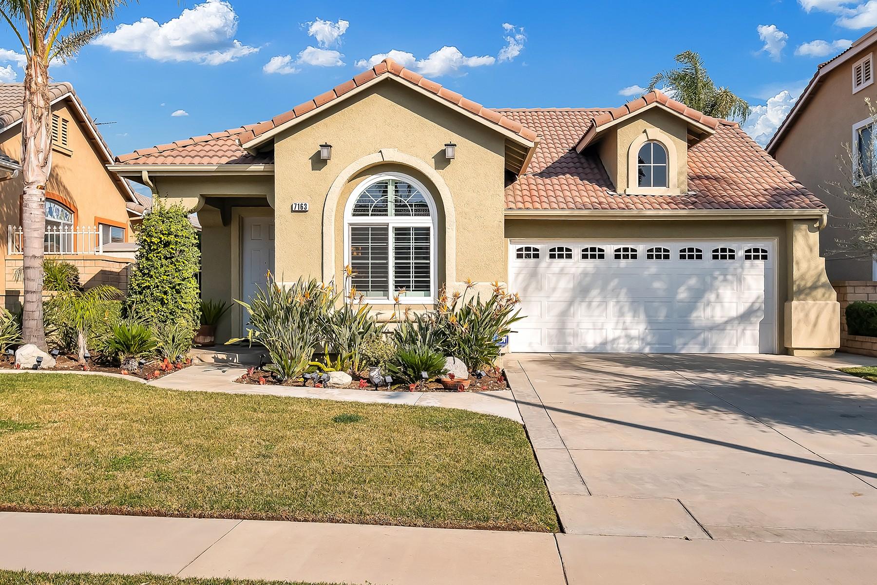 Single Family Homes para Venda às 7163 Aloe Court, Rancho Cucamonga, CA 91739 Rancho Cucamonga, Califórnia 91739 Estados Unidos