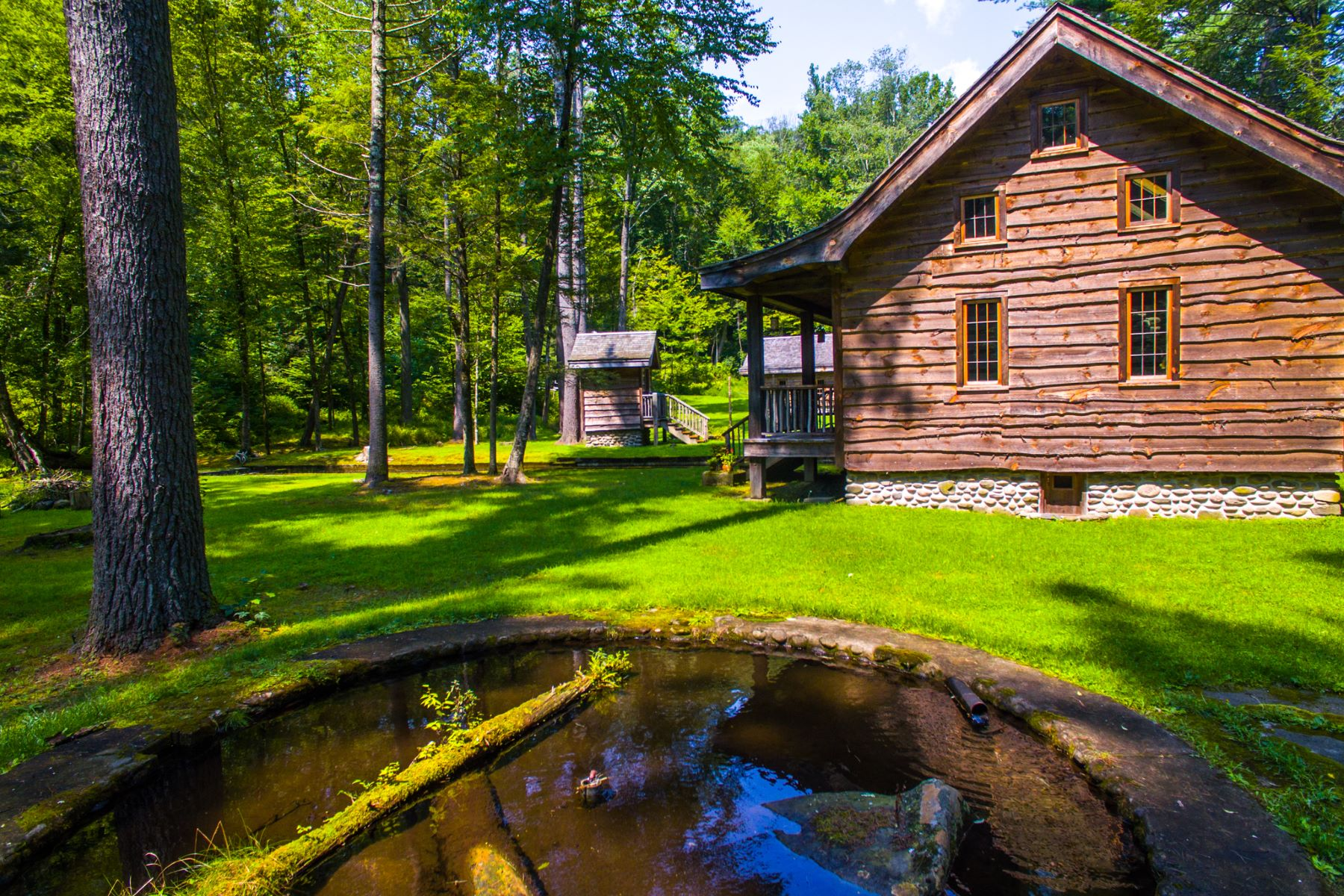 Single Family Homes for Active at Trout Hatchery Ponds on the Vernooy Kill Catskills 189 Lundy Rd Road Napanoch, New York 12489 United States