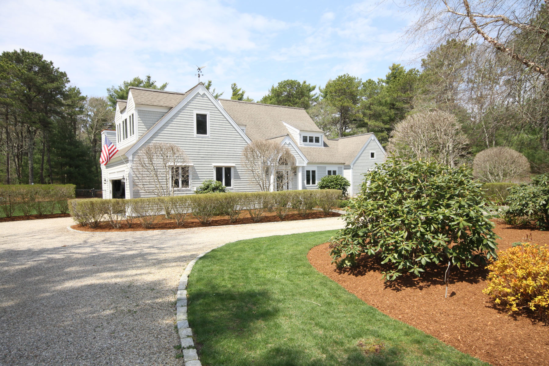 Moradia para Venda às EXQUISITE CONTEMPORARY HOME 17 Highwood Way New Seabury, Massachusetts, 02649 Estados Unidos