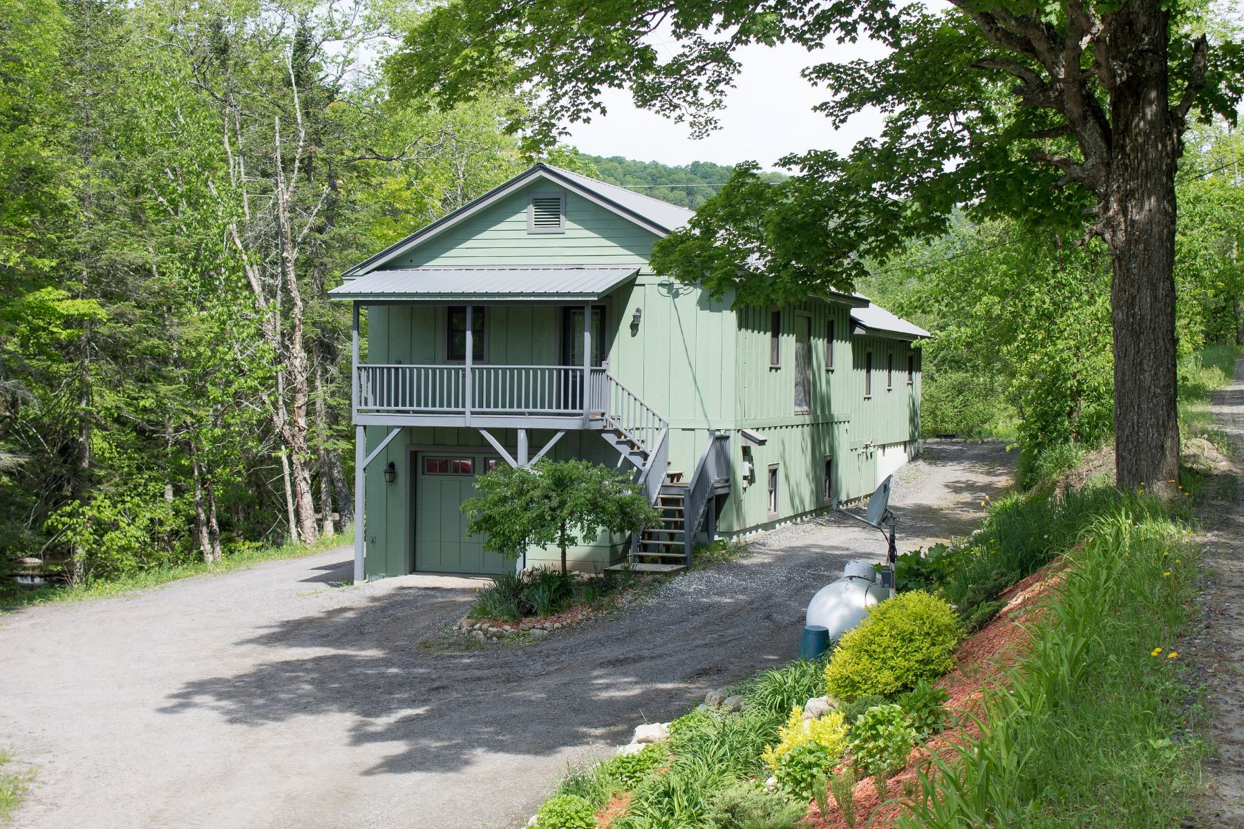 Single Family Homes for Sale at Three Bedroom Contemporary in Chelsea 117 Washington Tpke Chelsea, Vermont 05038 United States