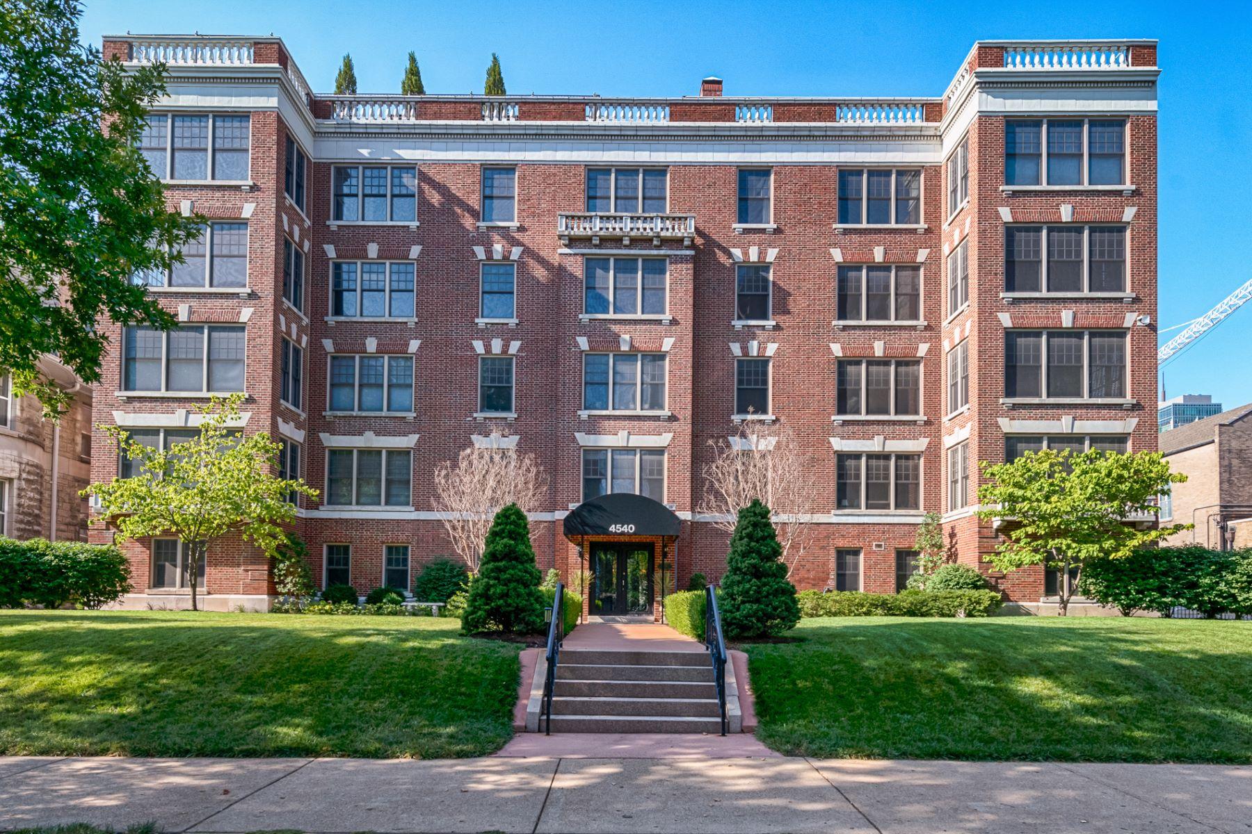 Condominium for Sale at Lindell Blvd 4540 Lindell Blvd # 401 St. Louis, Missouri 63108 United States