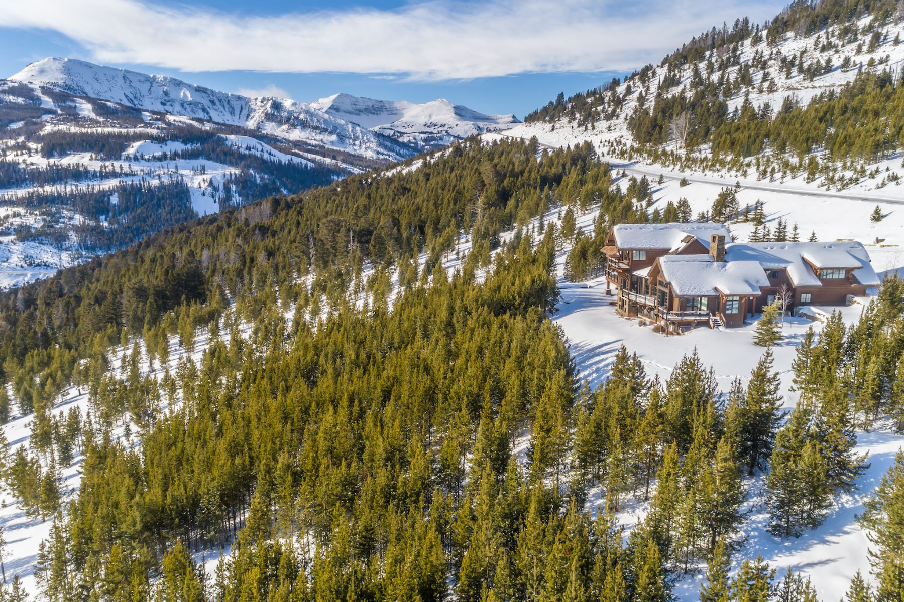 Single Family Homes for Sale at Yellowstone Club Home 77 Travertine Road Big Sky, Montana 59716 United States