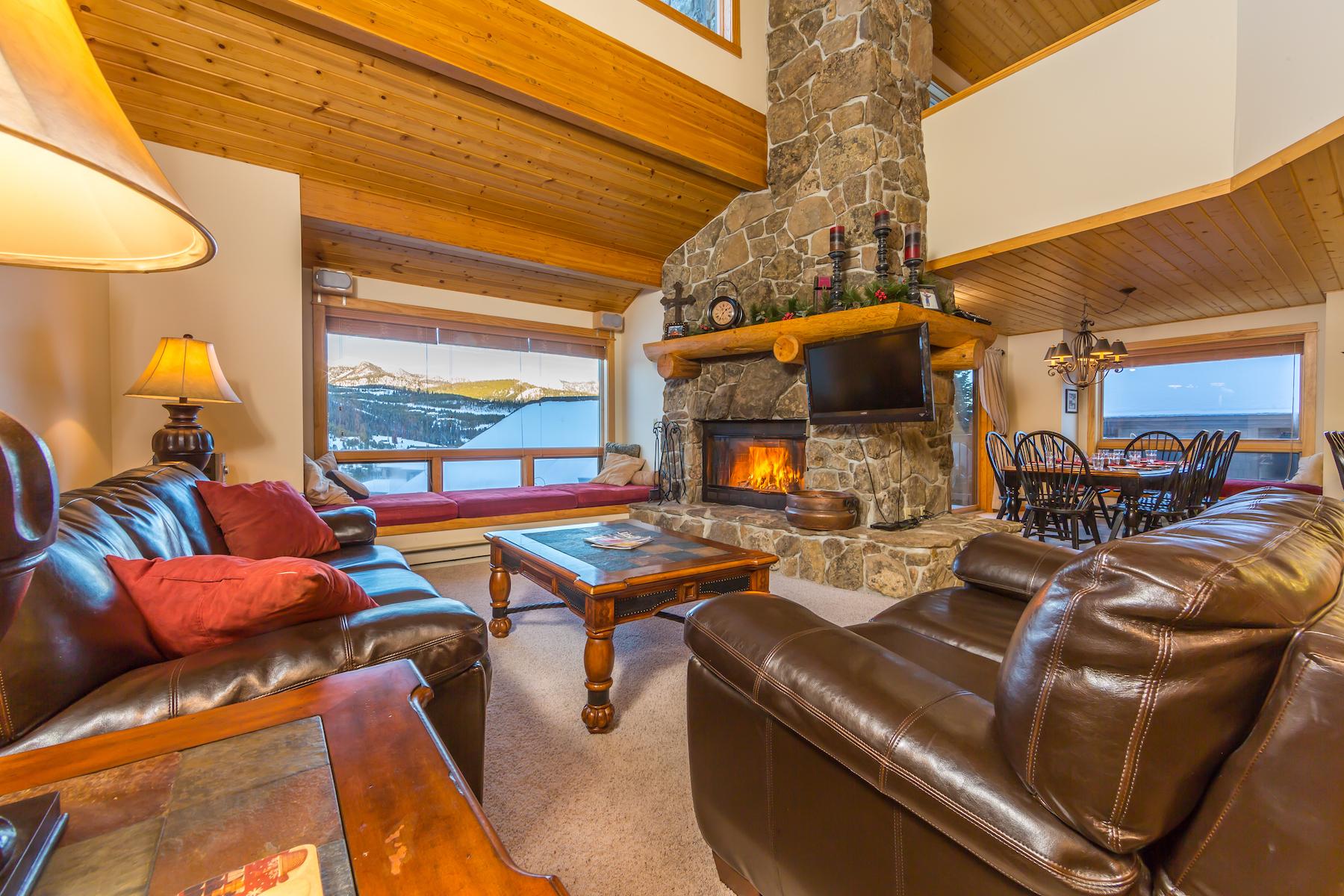 Кондоминиум для того Продажа на Beaverhead Condo 1468 10 Beaverhead Drive #1468, Big Sky, Монтана, 59716 Соединенные Штаты