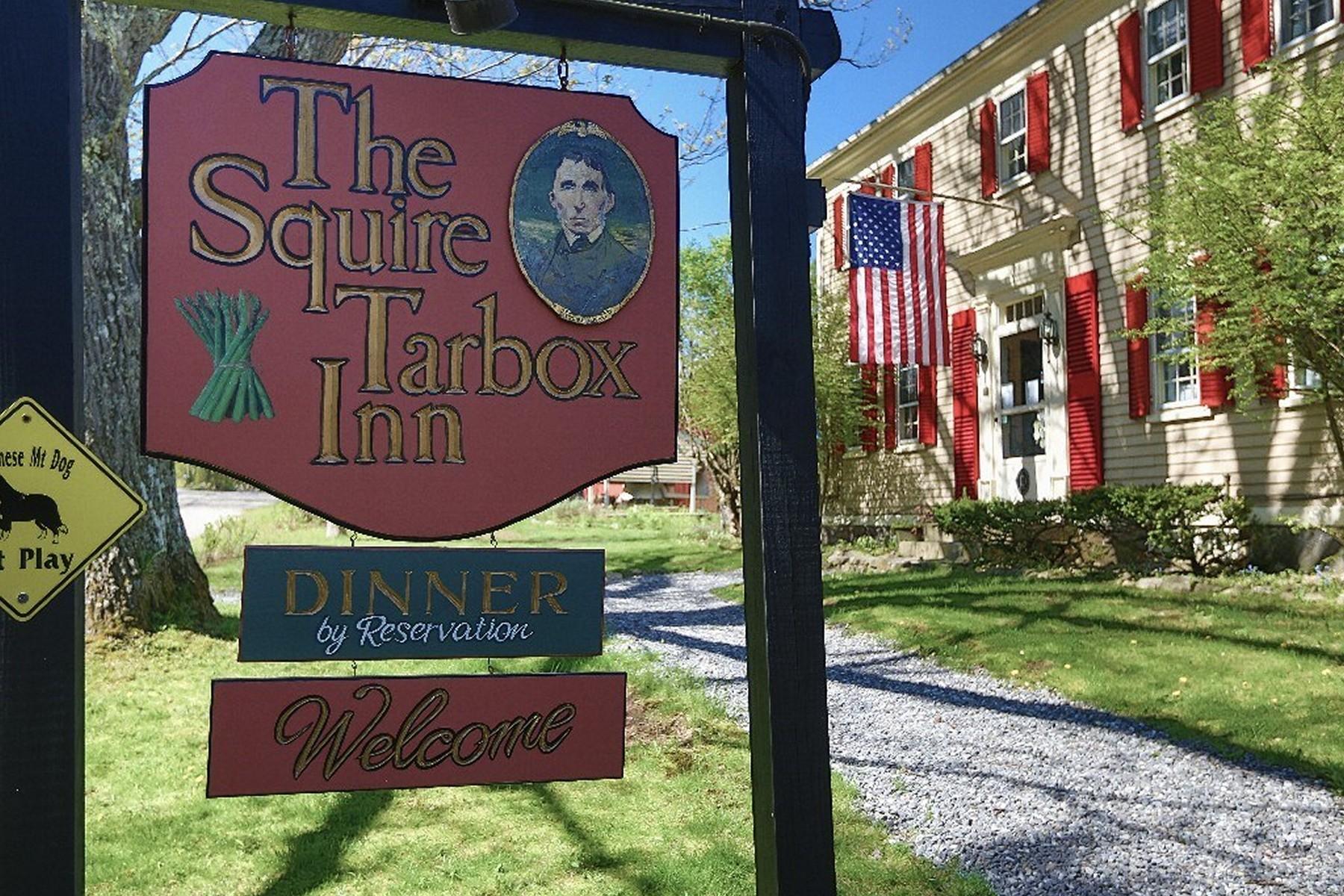 Tek Ailelik Ev için Satış at Squire Tarbox Inn 1181 Main Road Westport Island, Maine, 04578 Amerika Birleşik Devletleri