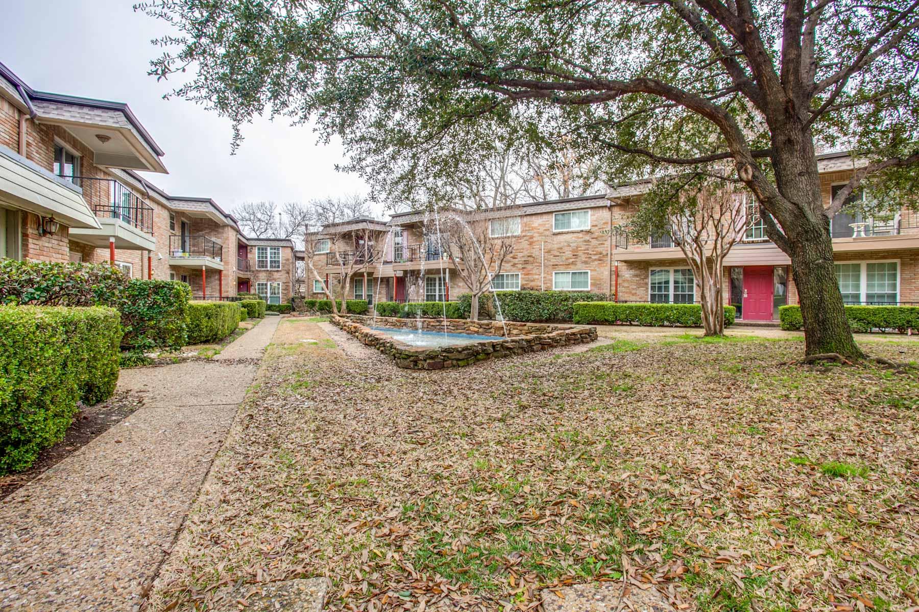 Condominium for Sale at Dallas Condo, Close to Downtown 7918 Royal Lane #112B, Dallas, Texas, 75230 United States