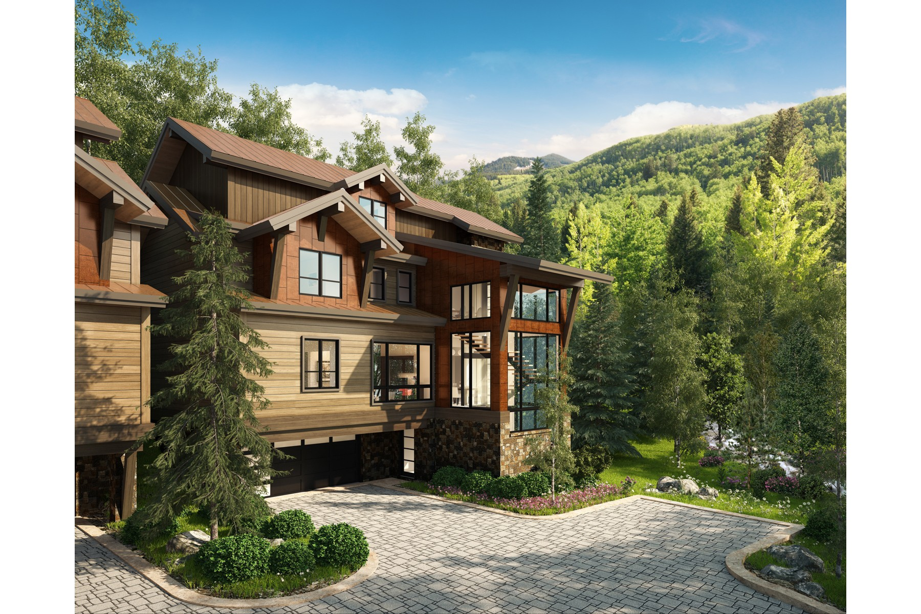 Single Family Home for Active at Peregrine Villas 191 Elk Track Road Beaver Creek, Colorado 81620 United States