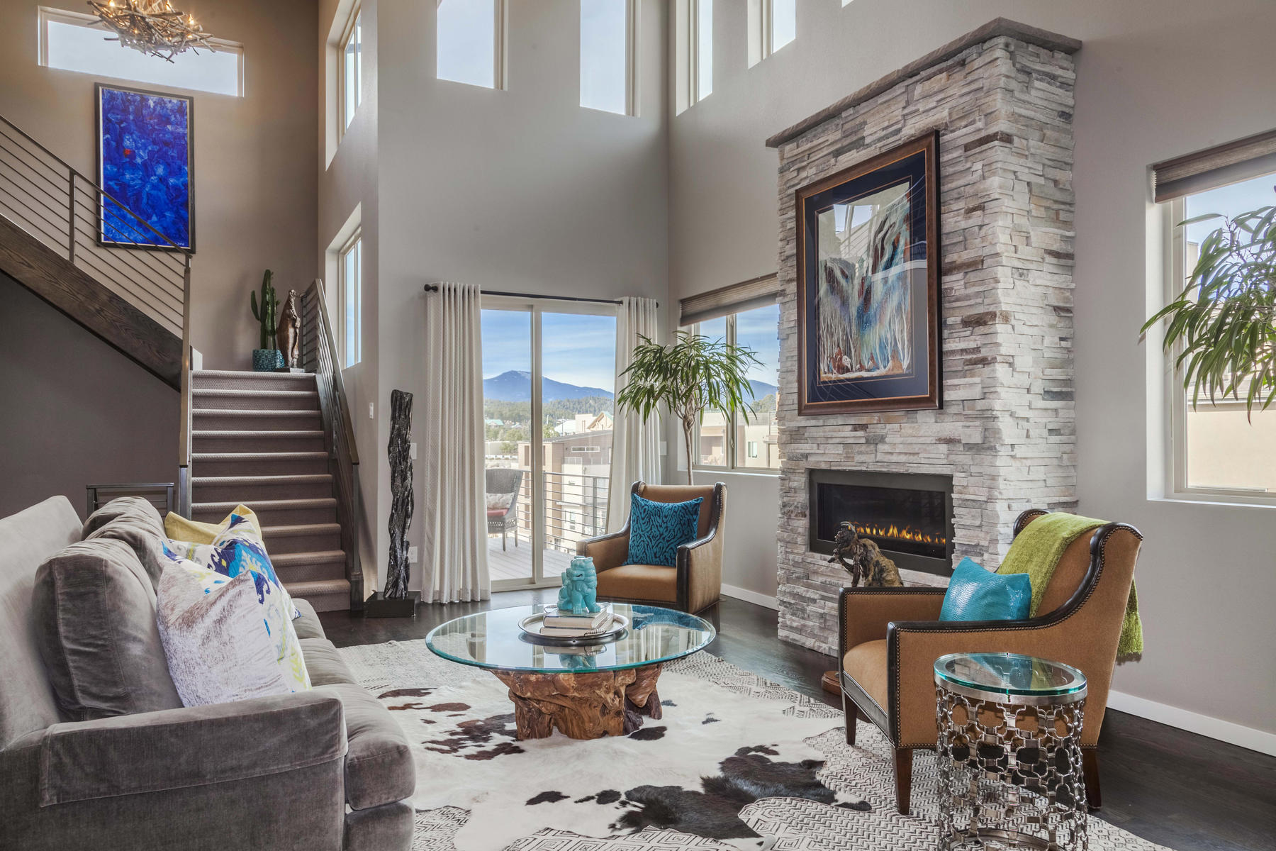 Townhouse for Active at Stunning Main-Floor Master Contemporary Masterpiece! 28444 Tepees Way Evergreen, Colorado 80439 United States