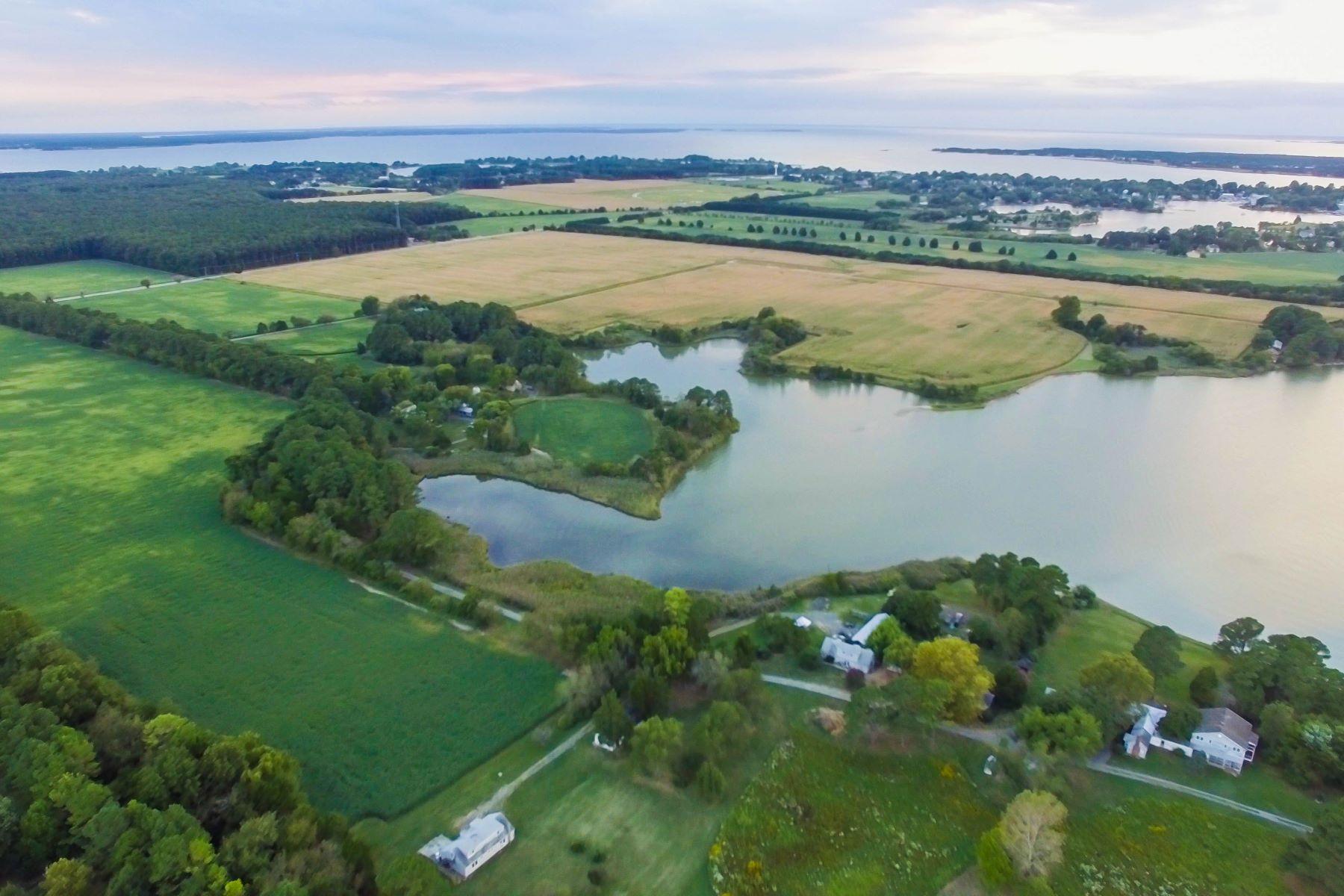 Terrain pour l Vente à 5252 Long Point Farm Drive Lot 4 Oxford, Maryland, 21654 États-Unis