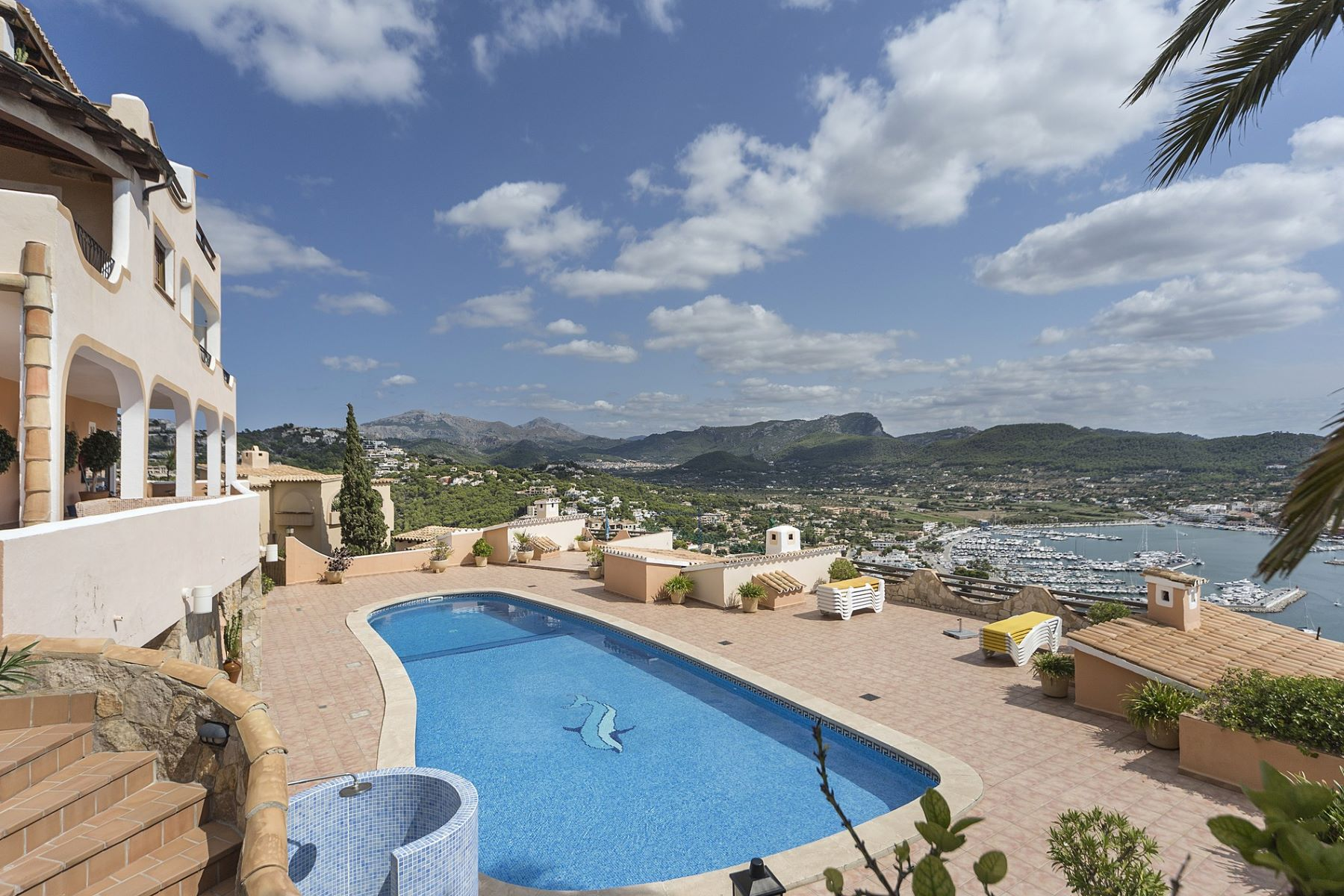 Single Family Home for Sale at Beautiful Penthouse on Top of Port Andratx Andratx, Mallorca, Spain