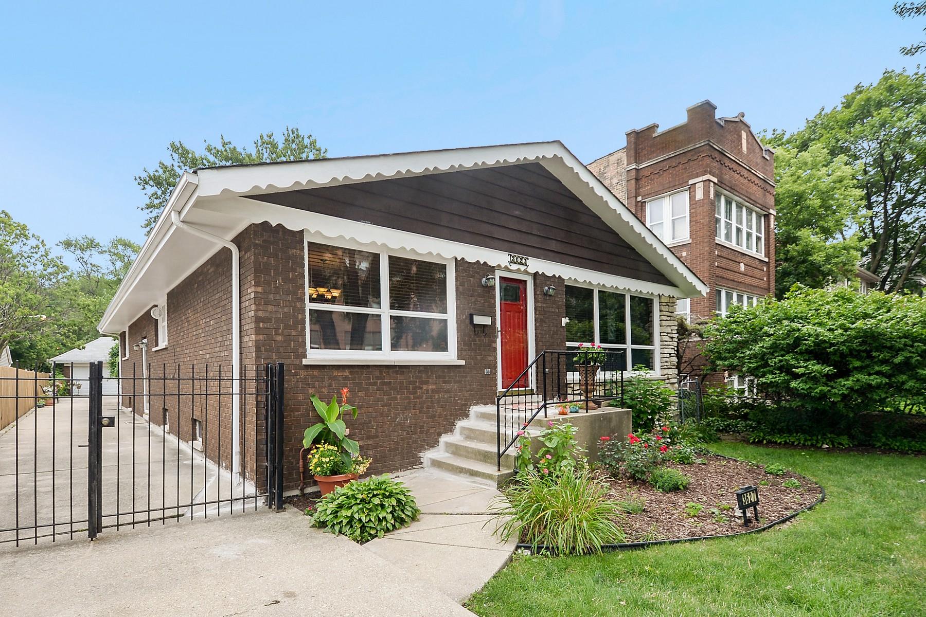 独户住宅 为 销售 在 Beautiful Old Irving Park Home 3627 N Kedvale Avenue 芝加哥, 伊利诺斯州, 60641 美国