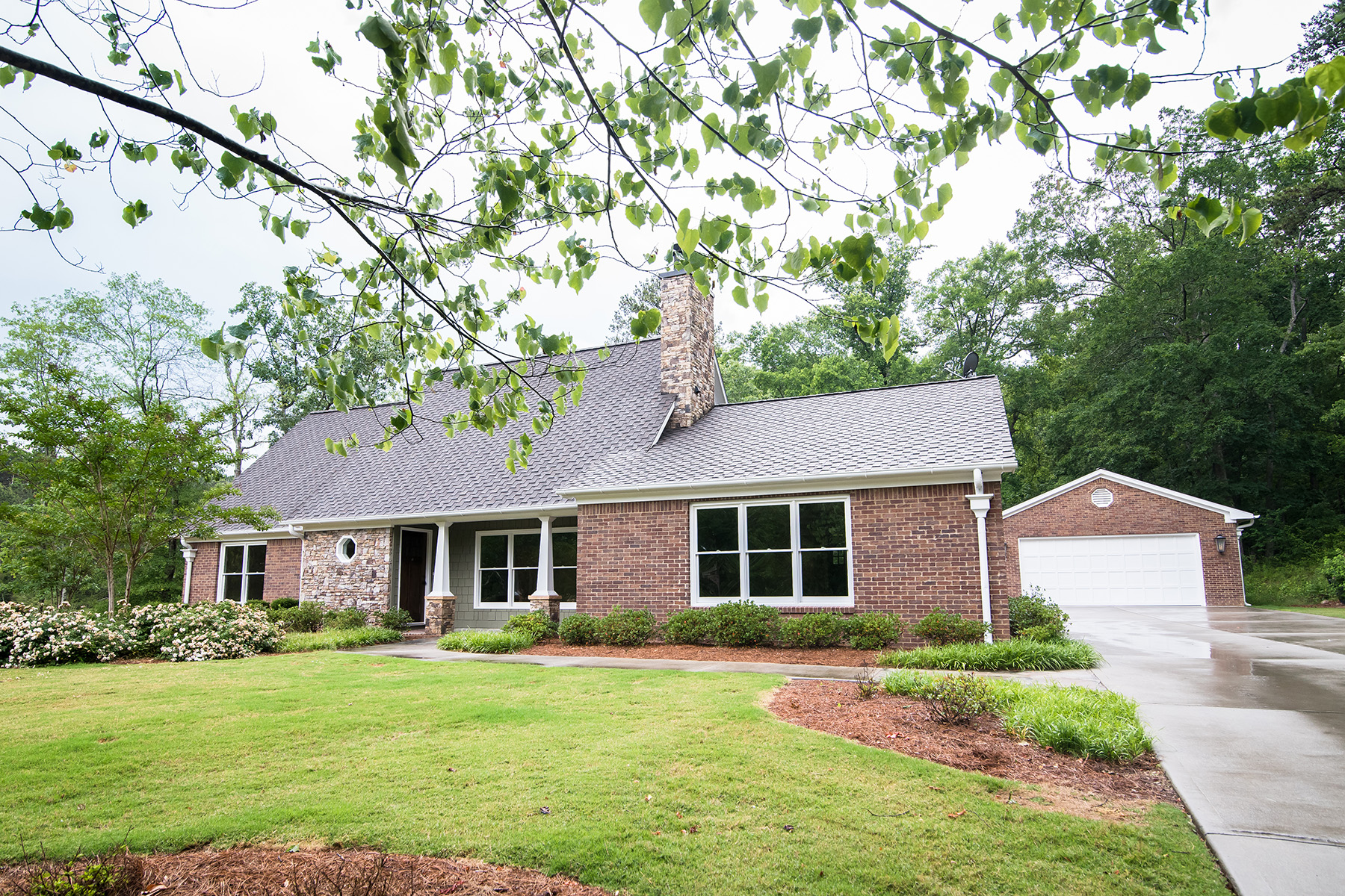 Single Family Homes for Sale at 1985 Craftsman Ranch Renovation 3505 Johnston Road Winston, Georgia 30187 United States