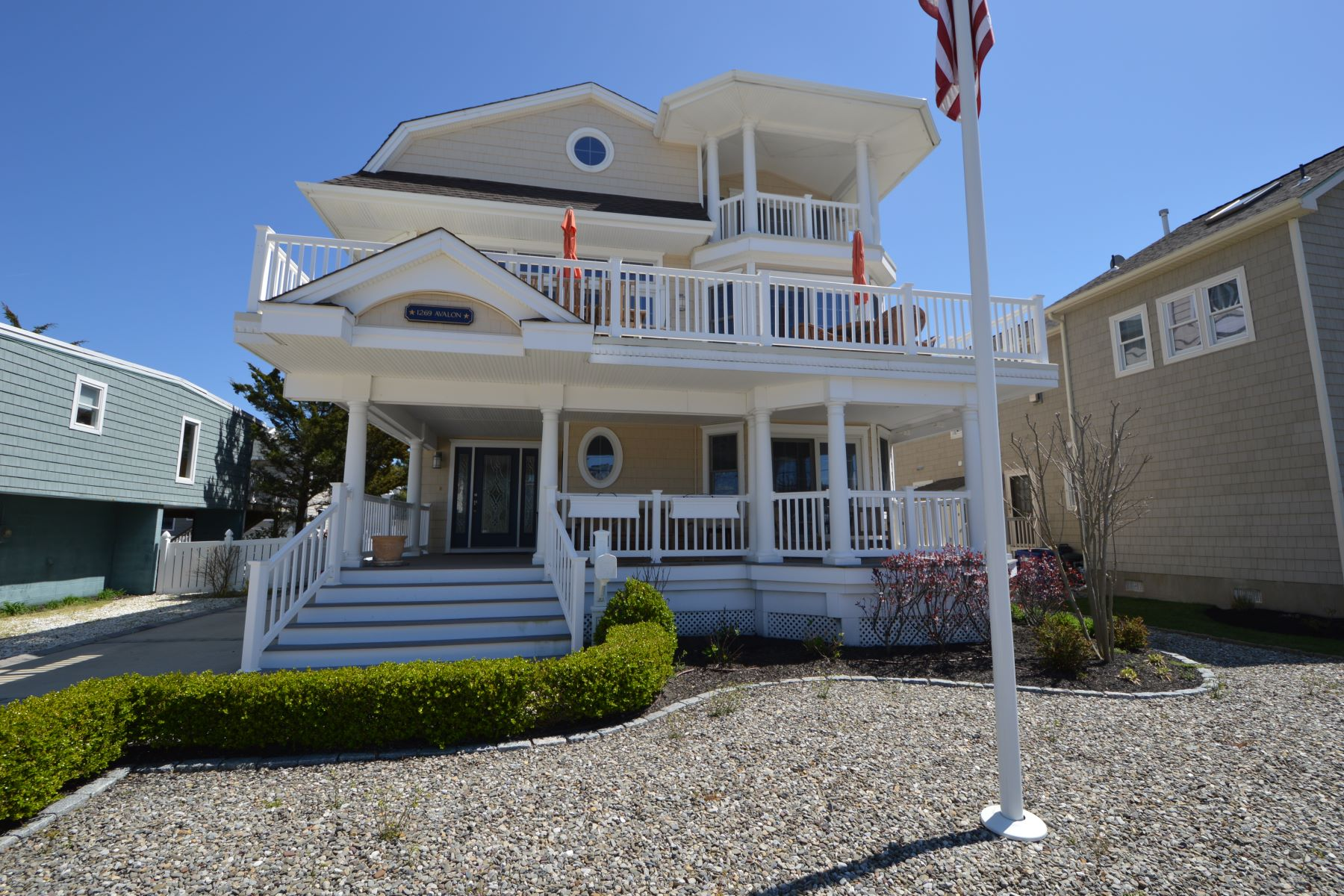 Single Family Home for Rent at Grand Beach Block Home 1269 Avalon Avenue, Avalon, New Jersey 08202 United States