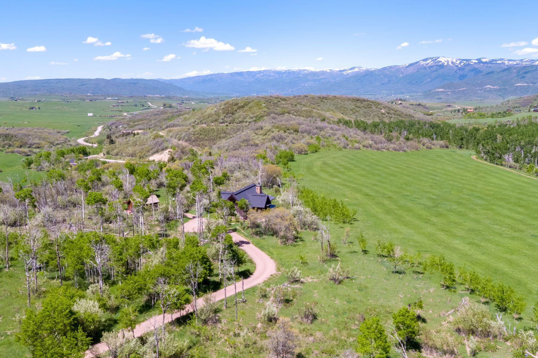 Single Family Home for Active at Dry Creek Ranch 29775 Dry Creek Trl Oak Creek, Colorado 80467 United States
