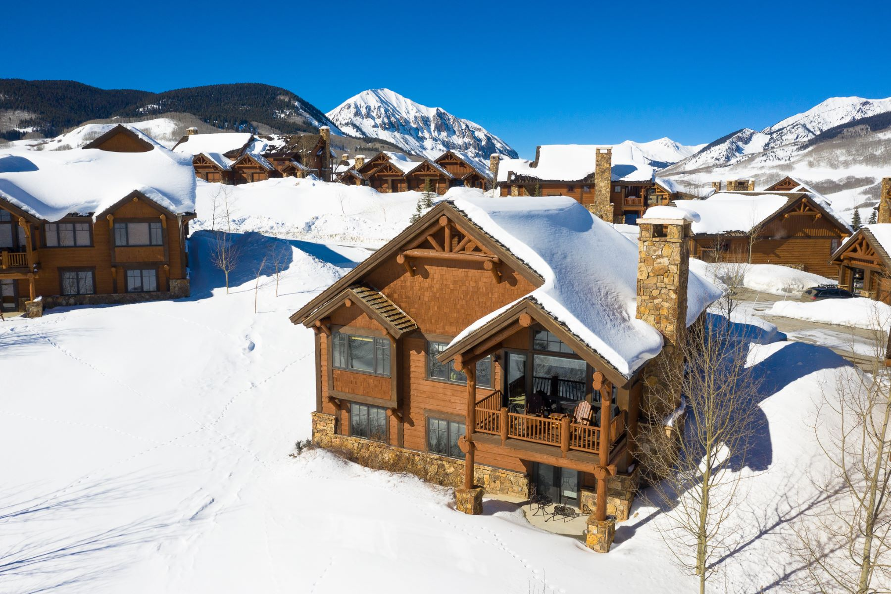 Single Family Homes for Sale at 26 Appaloosa Wildhorse at Prospect 26 Appaloosa Mount Crested Butte, Colorado 81225 United States