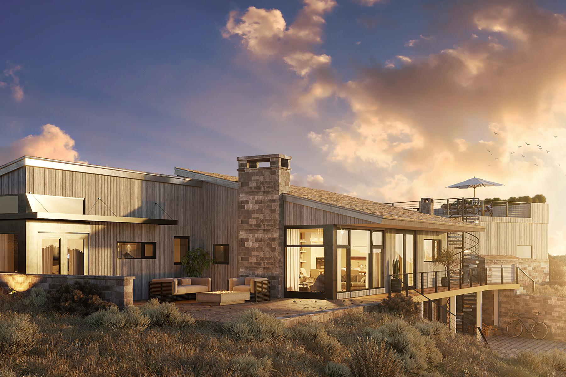Single Family Homes pour l Vente à New Construction Spring Creek Ranch 155 Wolf Drive, Jackson, Wyoming 83001 États-Unis