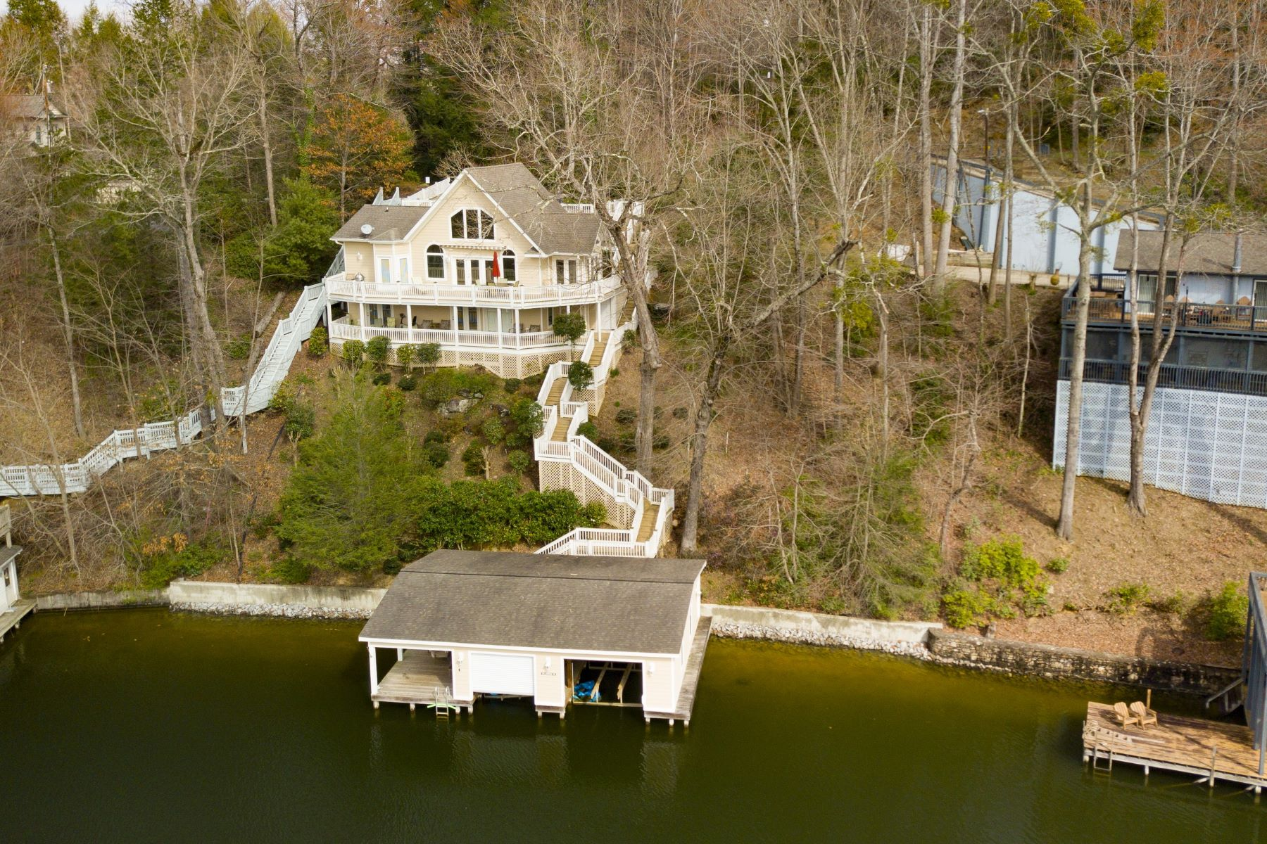 Single Family Homes for Sale at 140 Lakeridge Road, Lake Lure, NC 140 Lakeridge Road Lake Lure, North Carolina 28746 United States