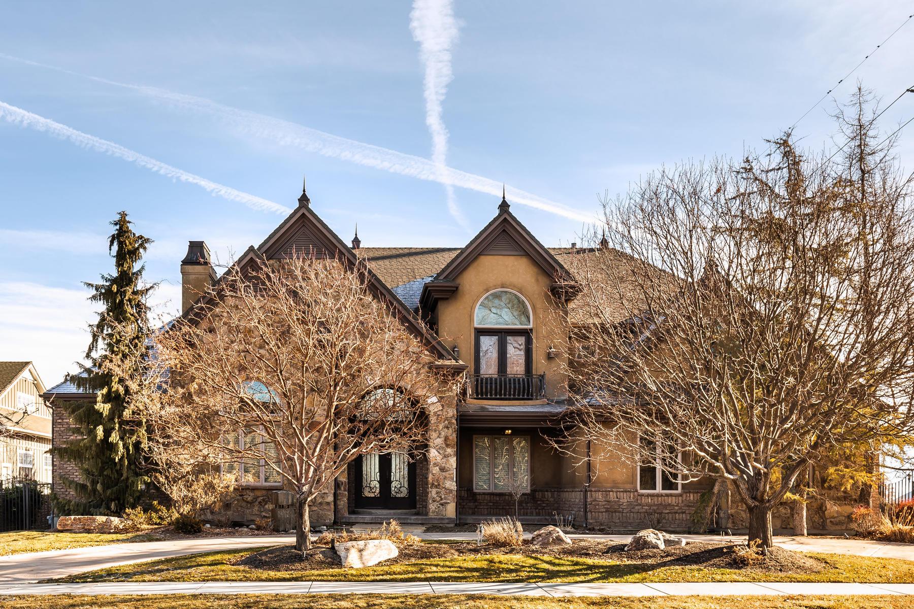 Single Family Homes for Sale at Pristine Award Winning Elegant Home 11383 S Portobello Rd South Jordan, Utah 84095 United States